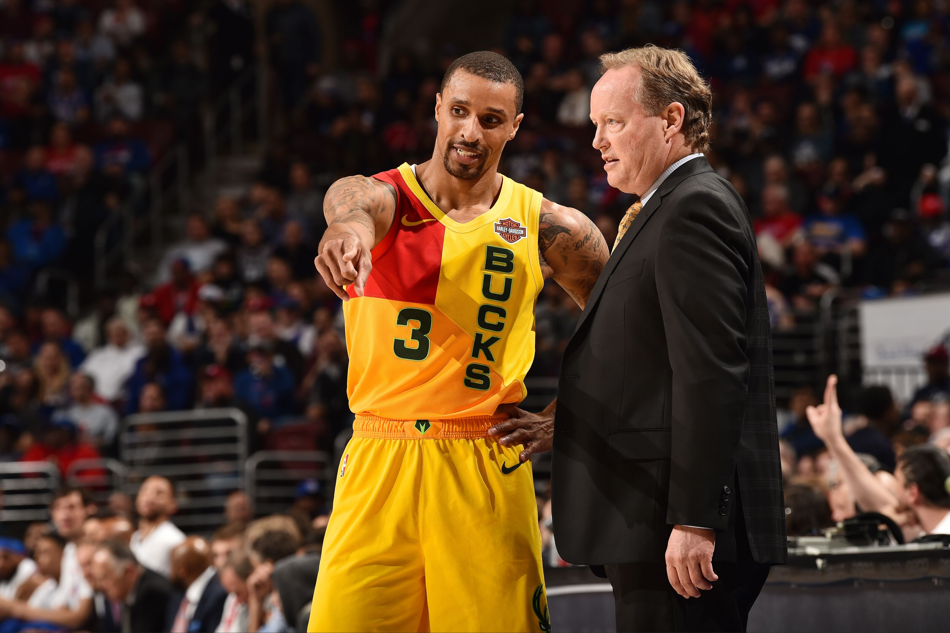 Milwaukee Bucks: George Hill's ever-growing importance to playoff campaign
