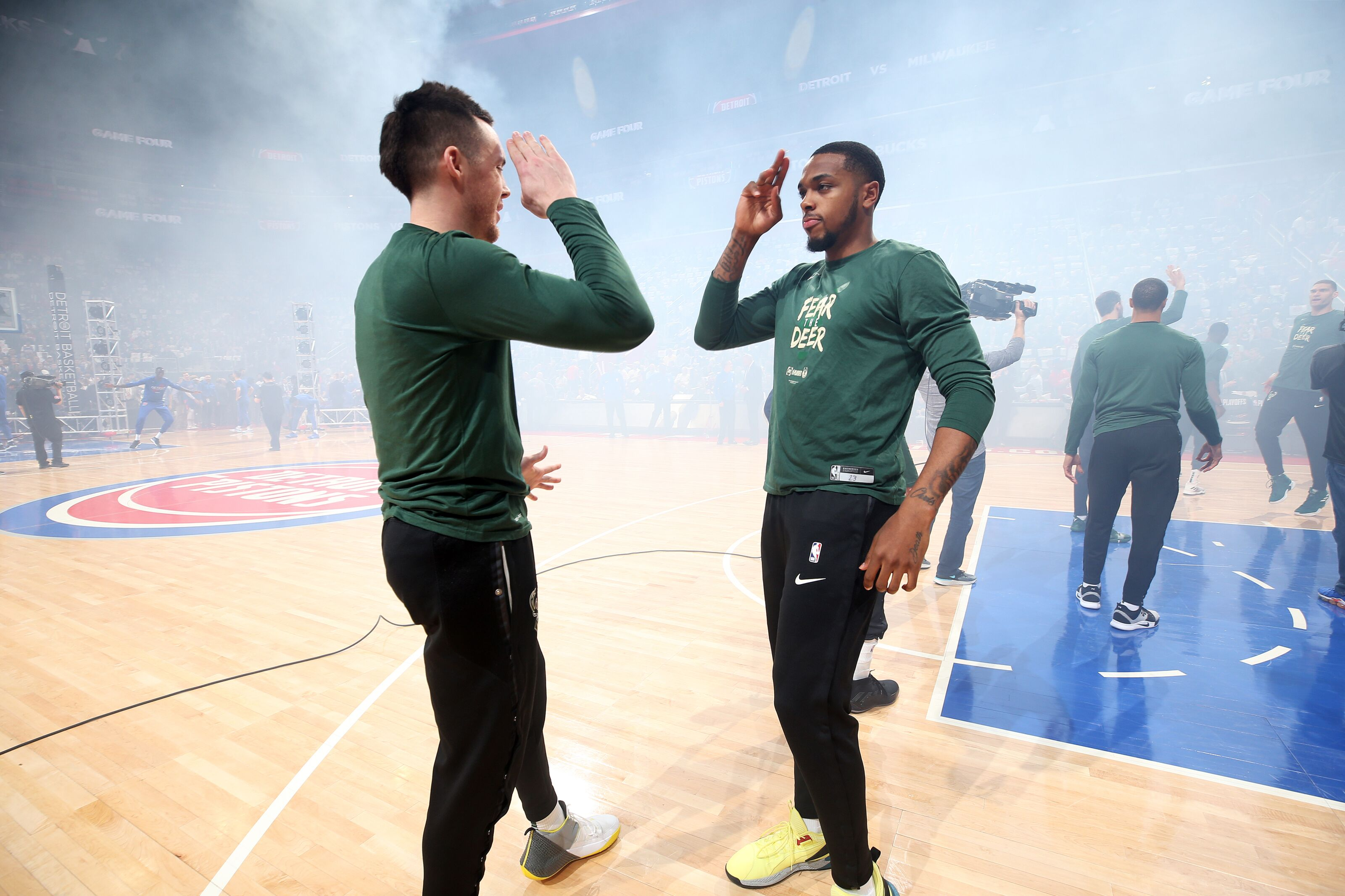 Milwaukee Bucks: Intriguing training camp battle approaches