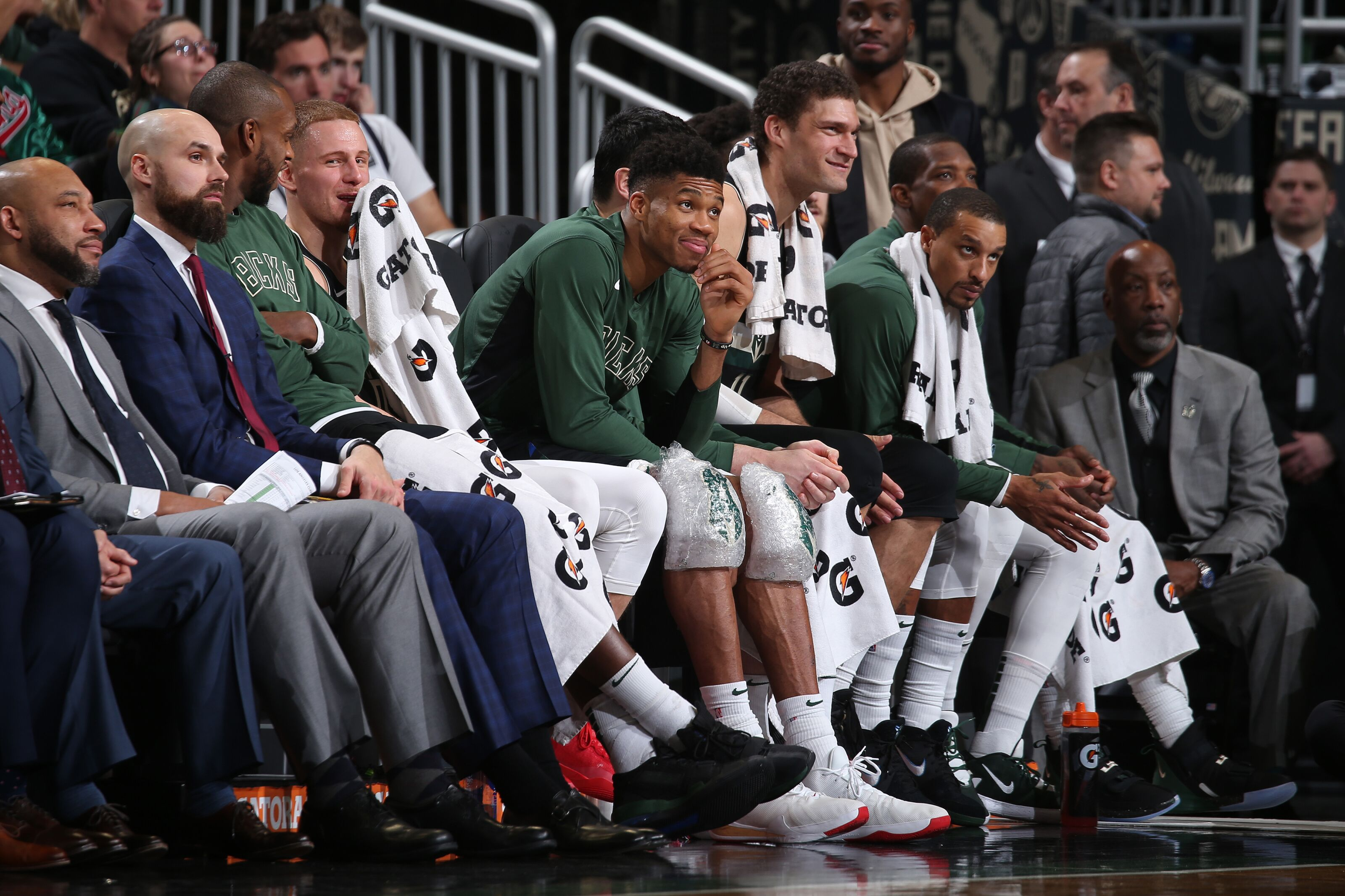 Milwaukee Bucks: Midseason grades for every player on the roster