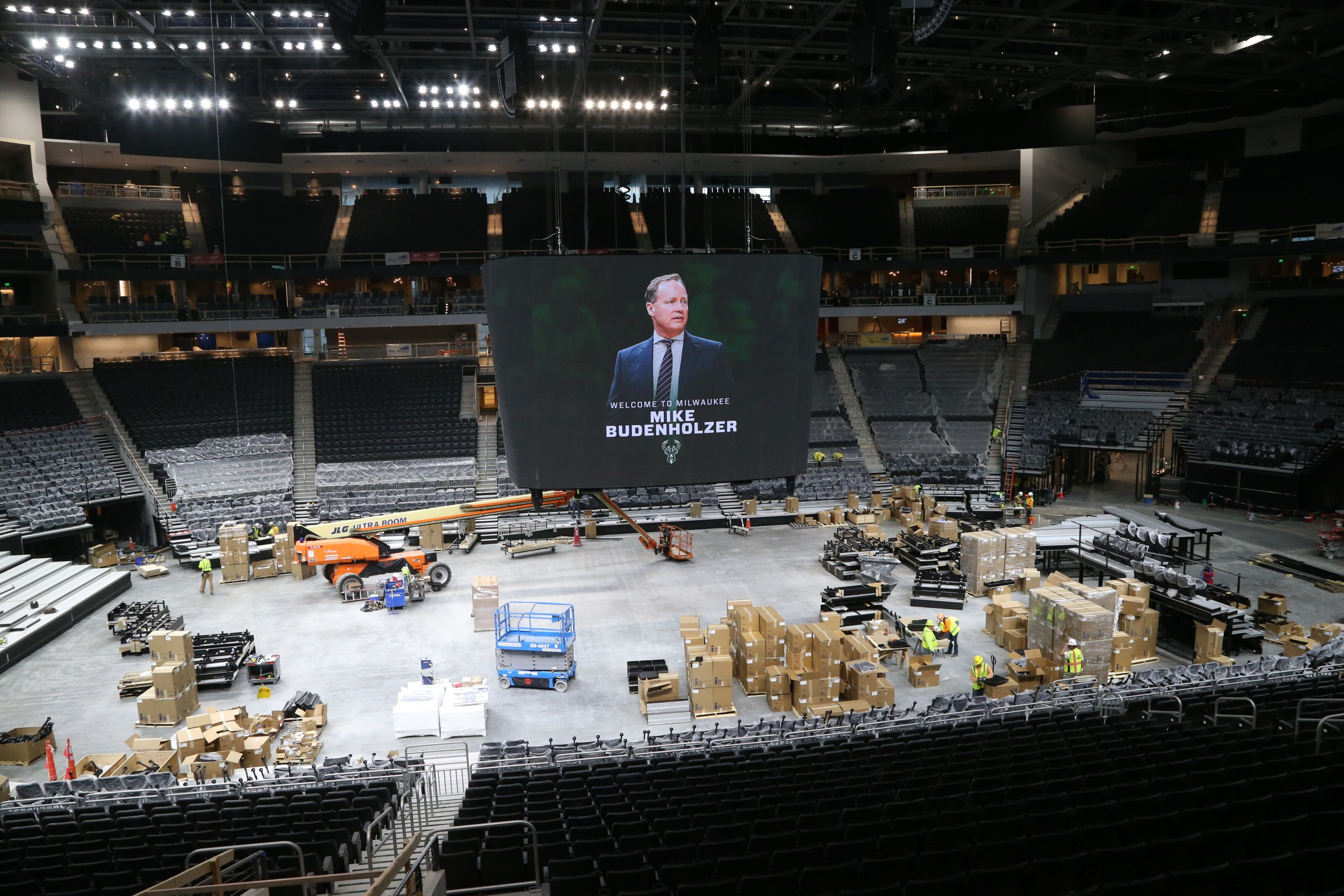 Milwaukee Bucks Daily: New arena progress in photos