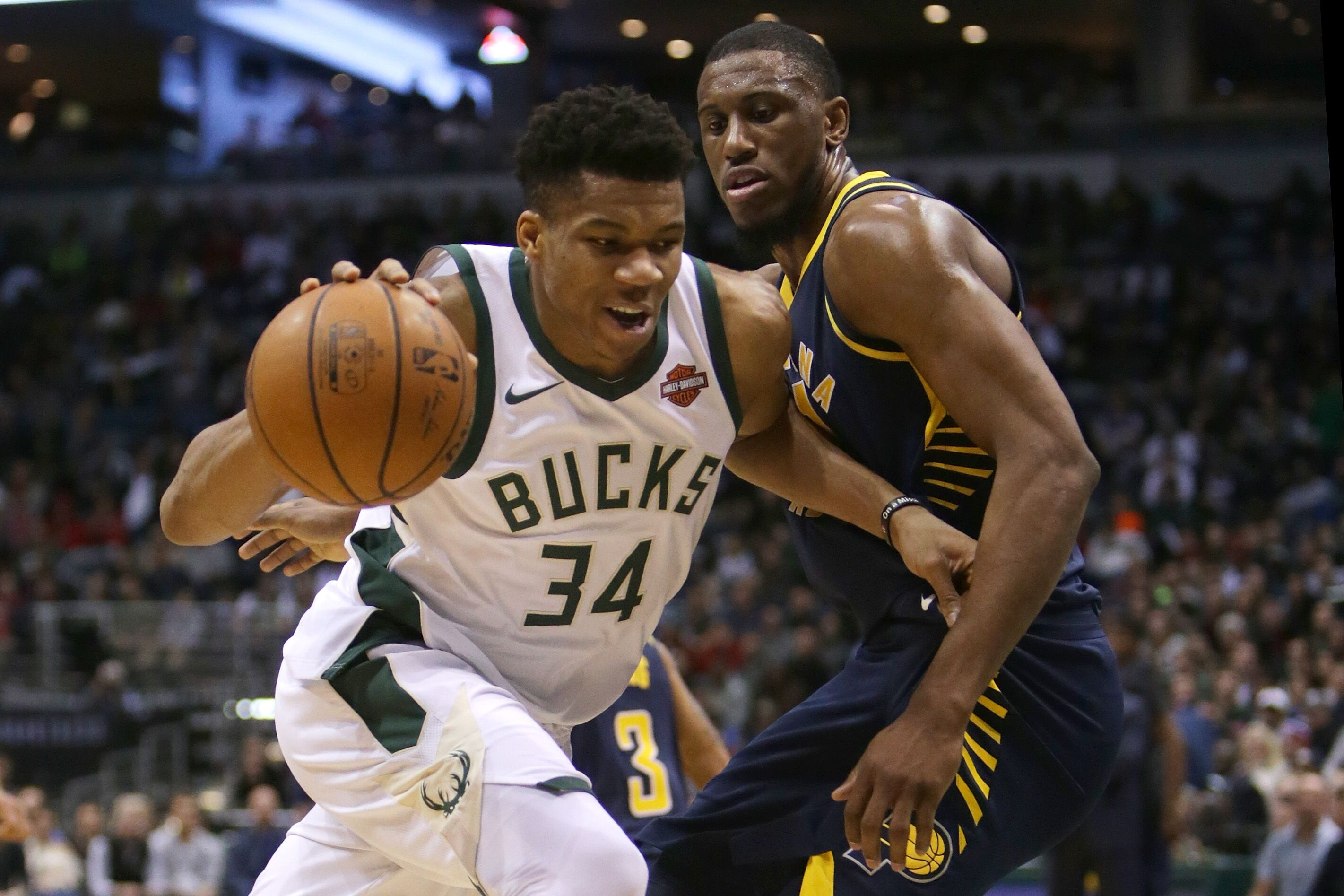Image result for Indiana Pacers vs Milwaukee Bucks