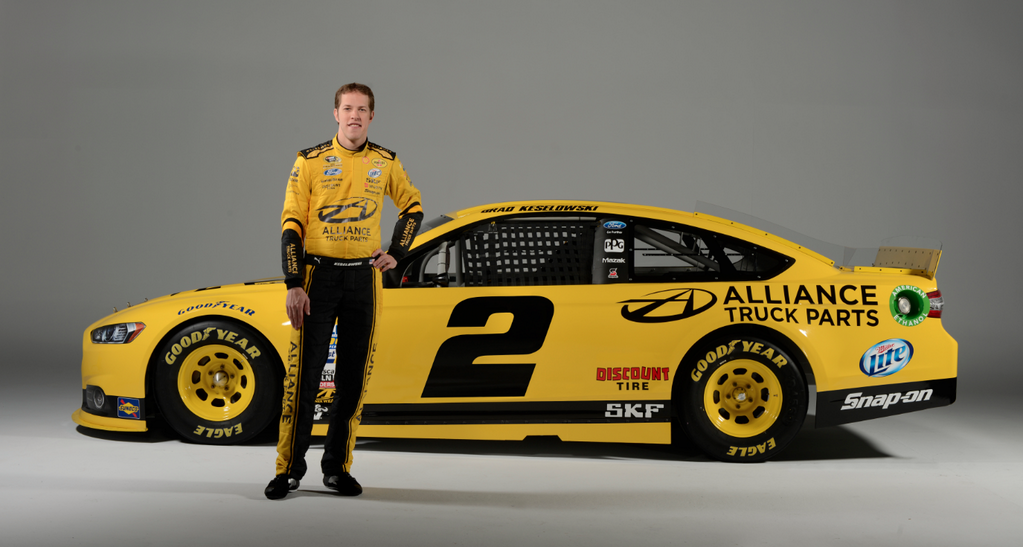 sponsorship blue and yellow make green for keselowski. Black Bedroom Furniture Sets. Home Design Ideas