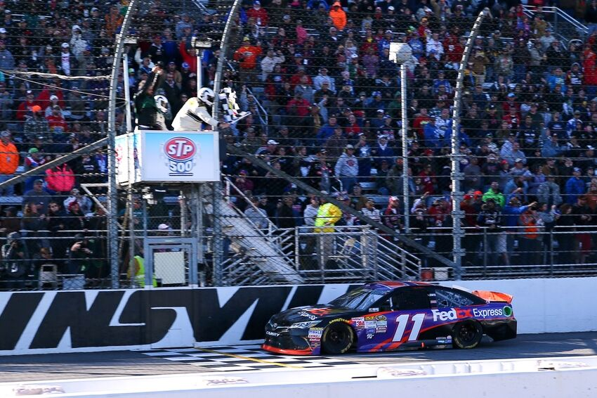 Who is going to win Sunday's NASCAR race at Martinsville?