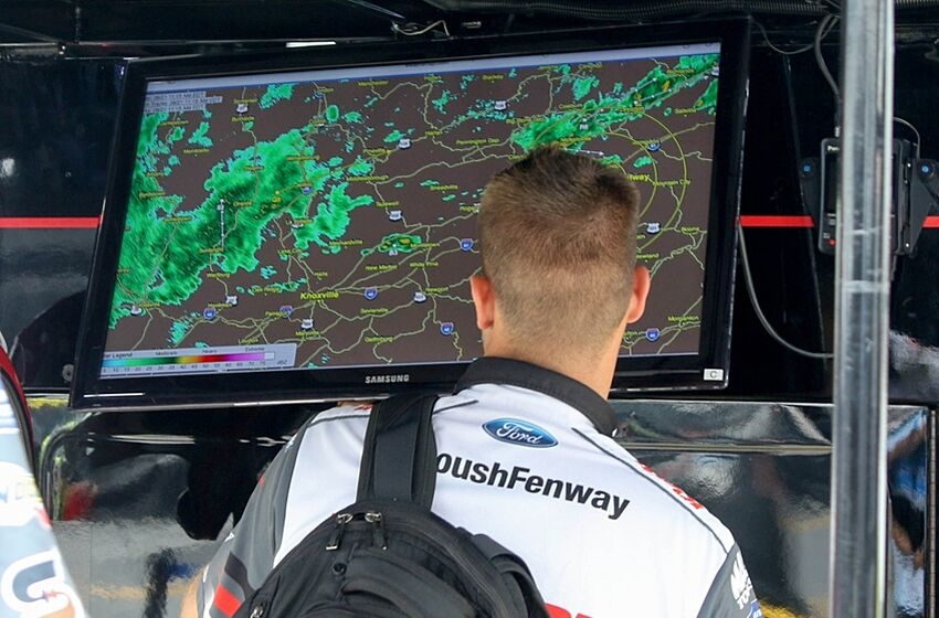 NASCAR: Updated Weather Forecast For Charlotte Weekend