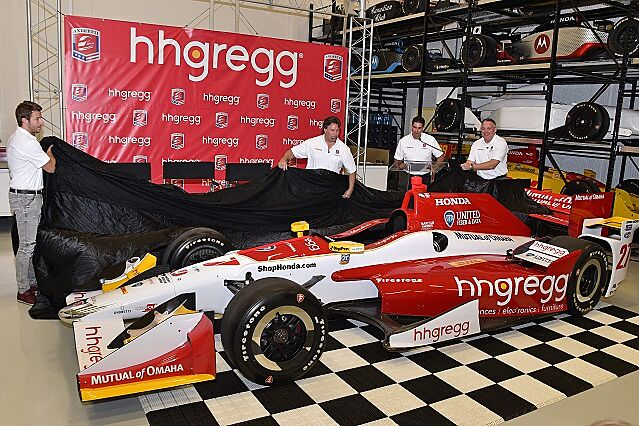Marco Andretti Signs hhgregg As CoPrimary Sponsor – Race Car Sponsorship Contract