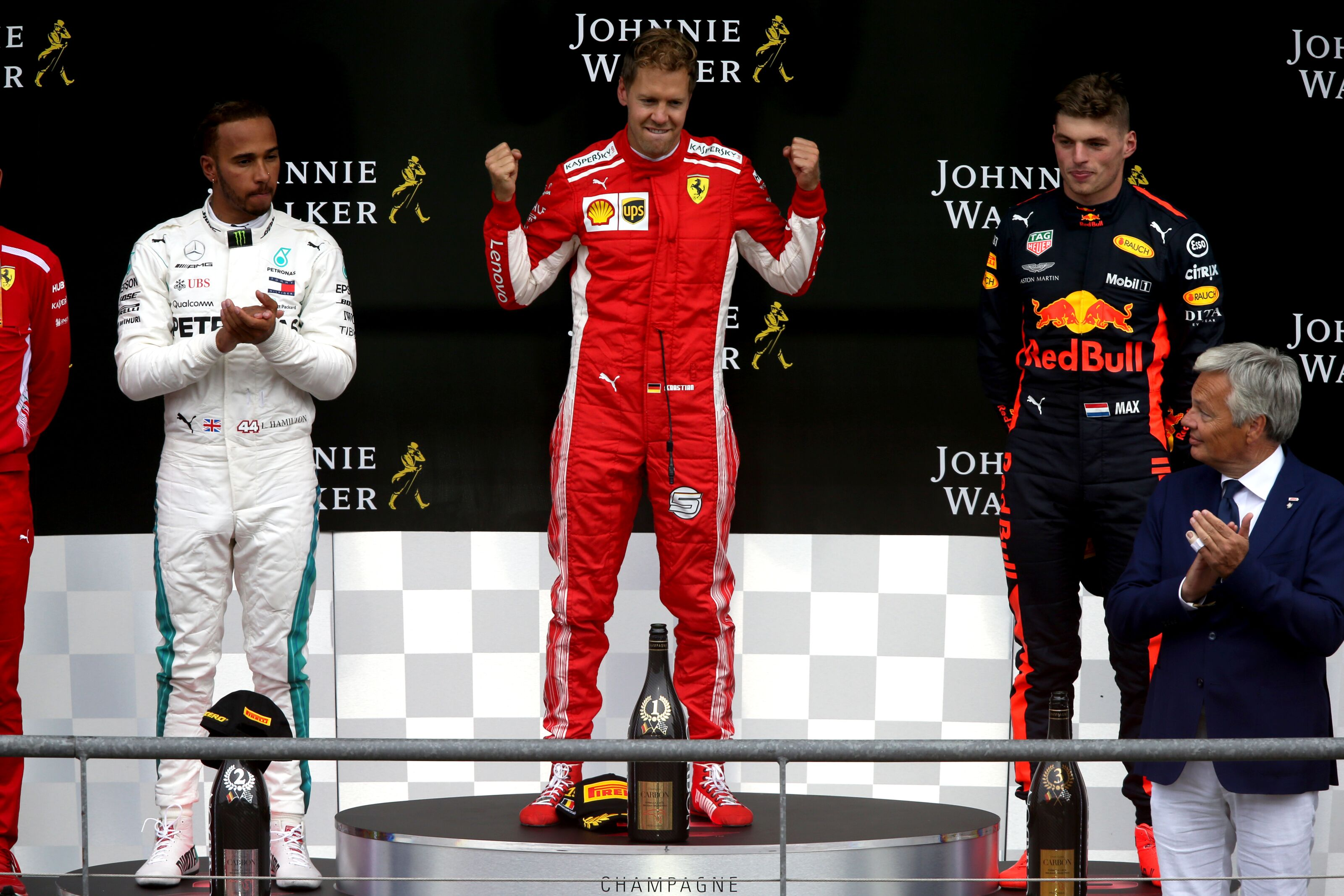 44 års racet Formula 1: Post race driver grades after the 2018 Belgian Grand Prix 44 års racet