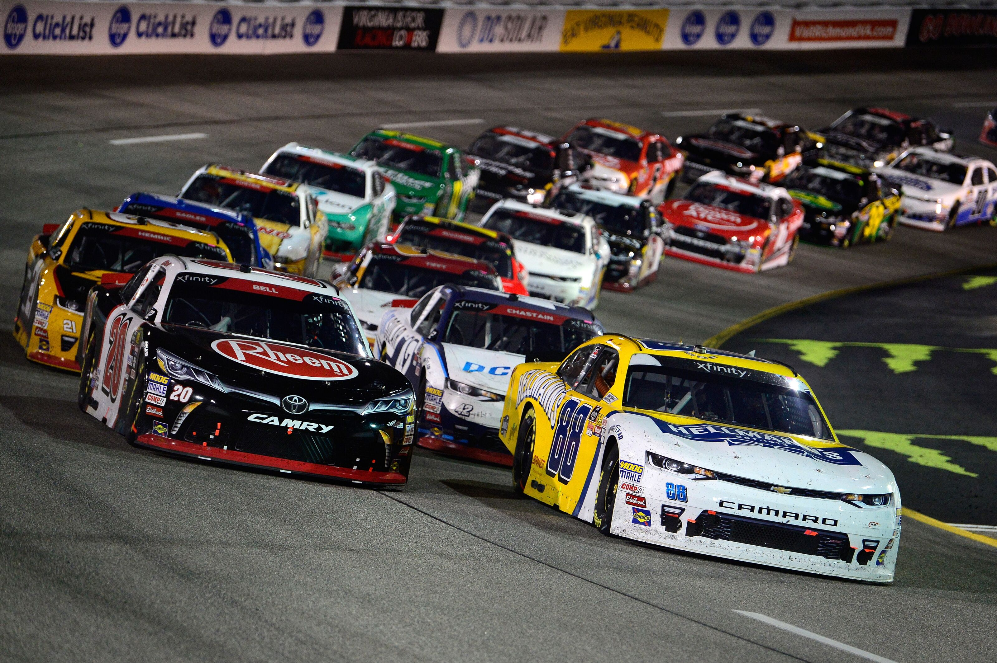NASCAR Xfinity Series: 2019 playoff schedule