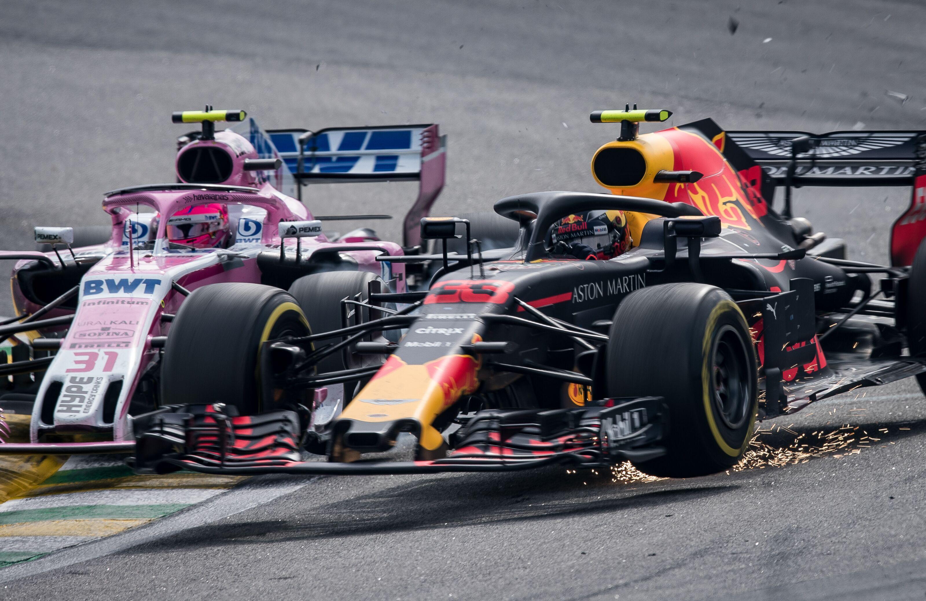 Sao Paulo Brazil November  Max Verstappen Of The Netherlands Driving The