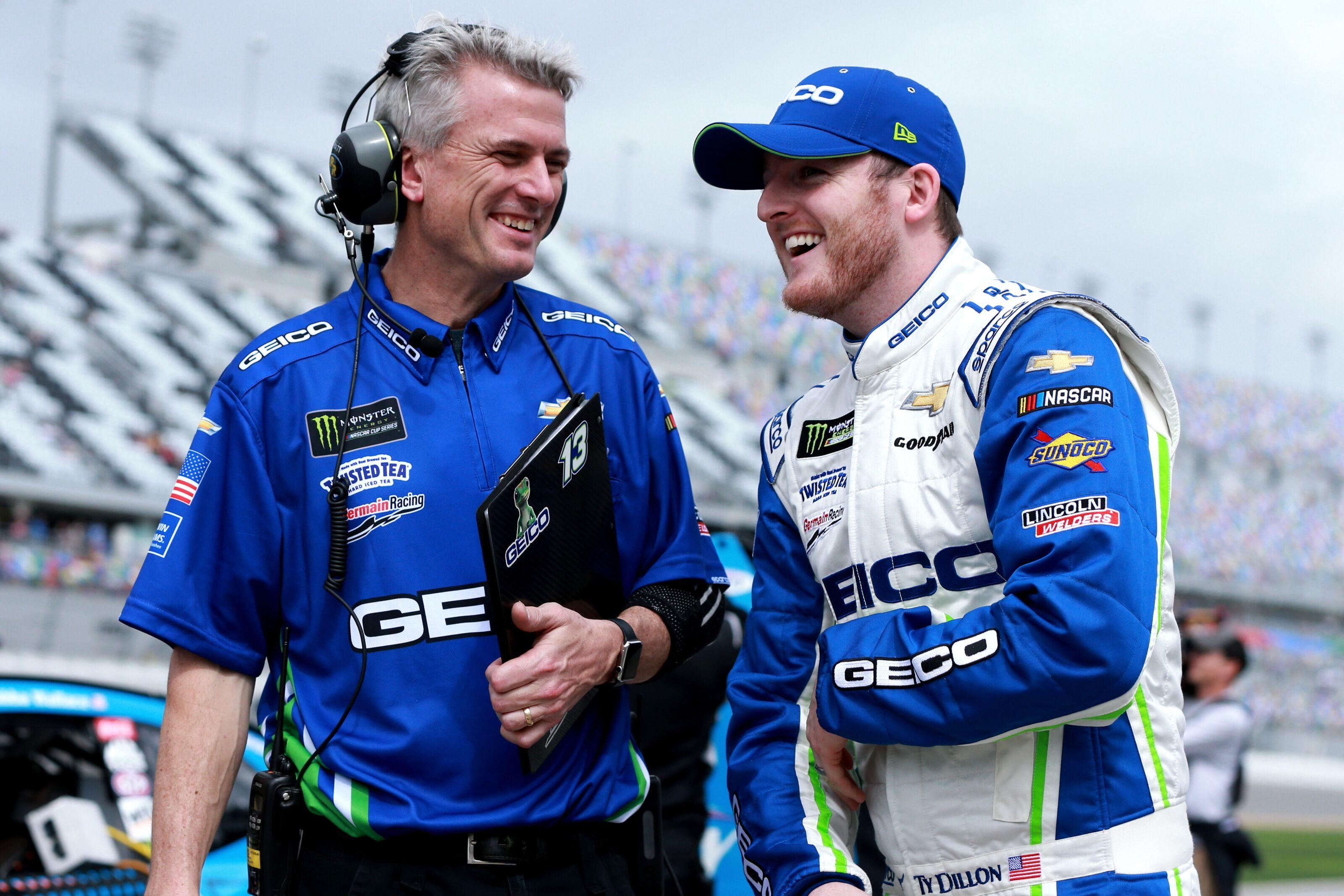 NASCAR Cup Series: Matt Borland suspended indefinitely