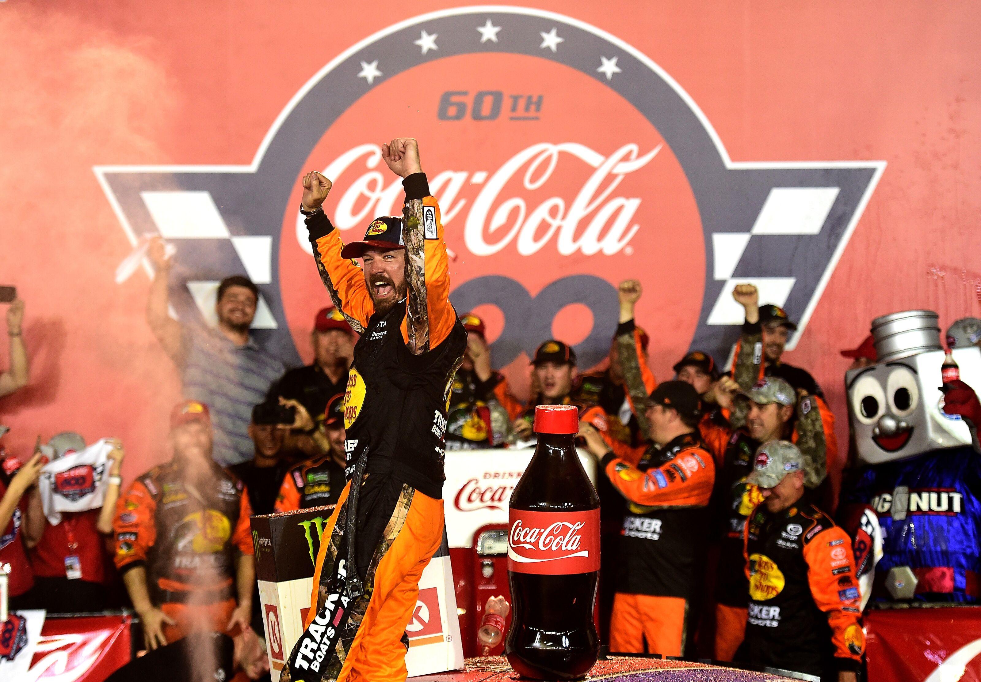 NASCAR Cup Series: Martin Truex Jr. wins 2019 Coca-Cola 600