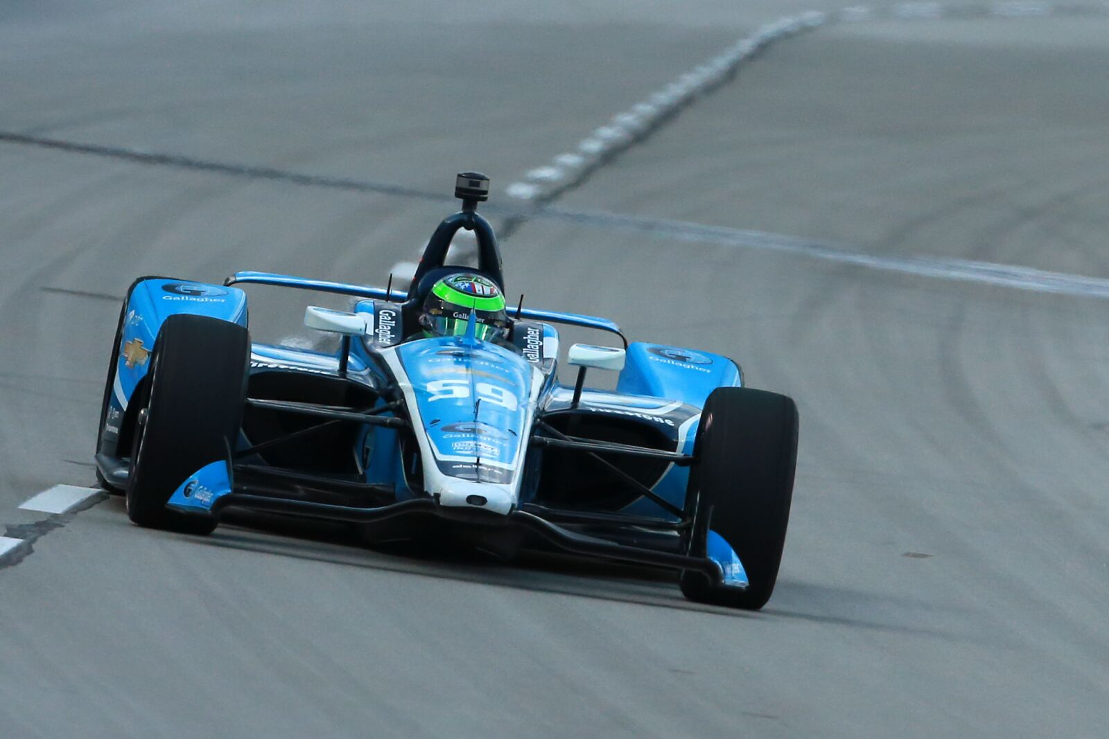 IndyCar: Conor Daly tops second and final 2019 Gateway practice