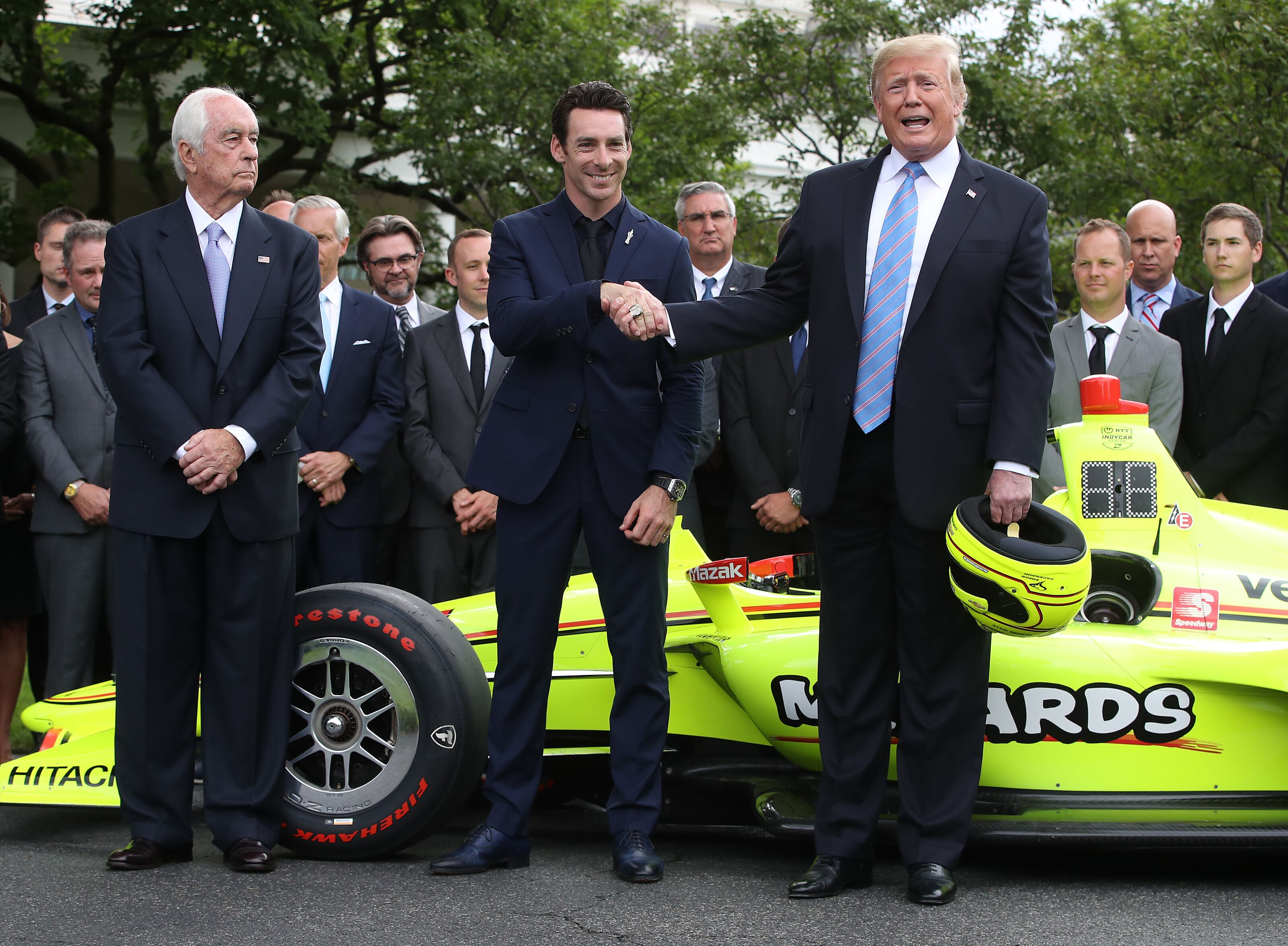 IndyCar: Simon Pagenaud, Team Penske take in White House experience
