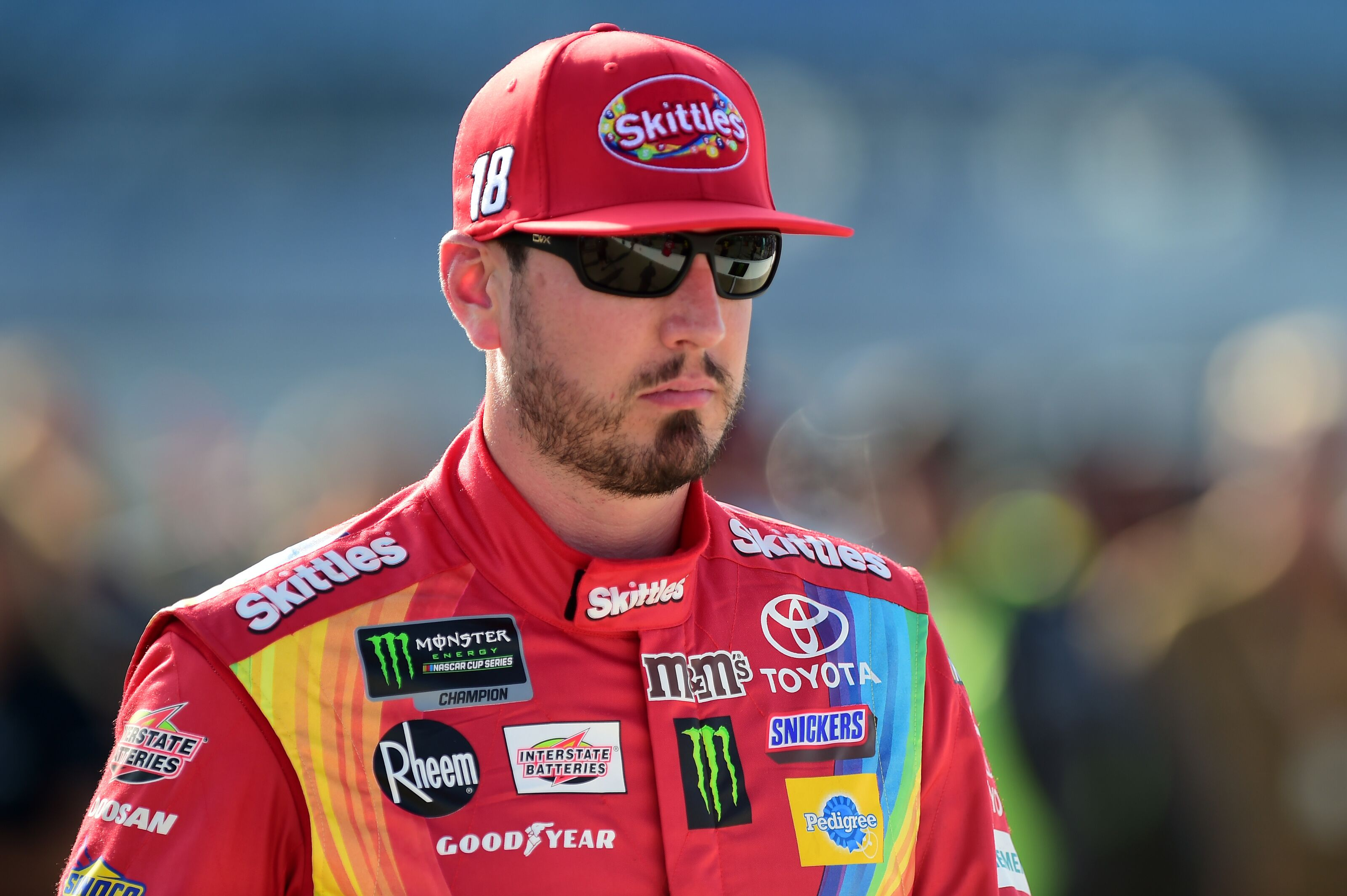 NASCAR's 4th place driver Kyle Busch effectively voted world's best