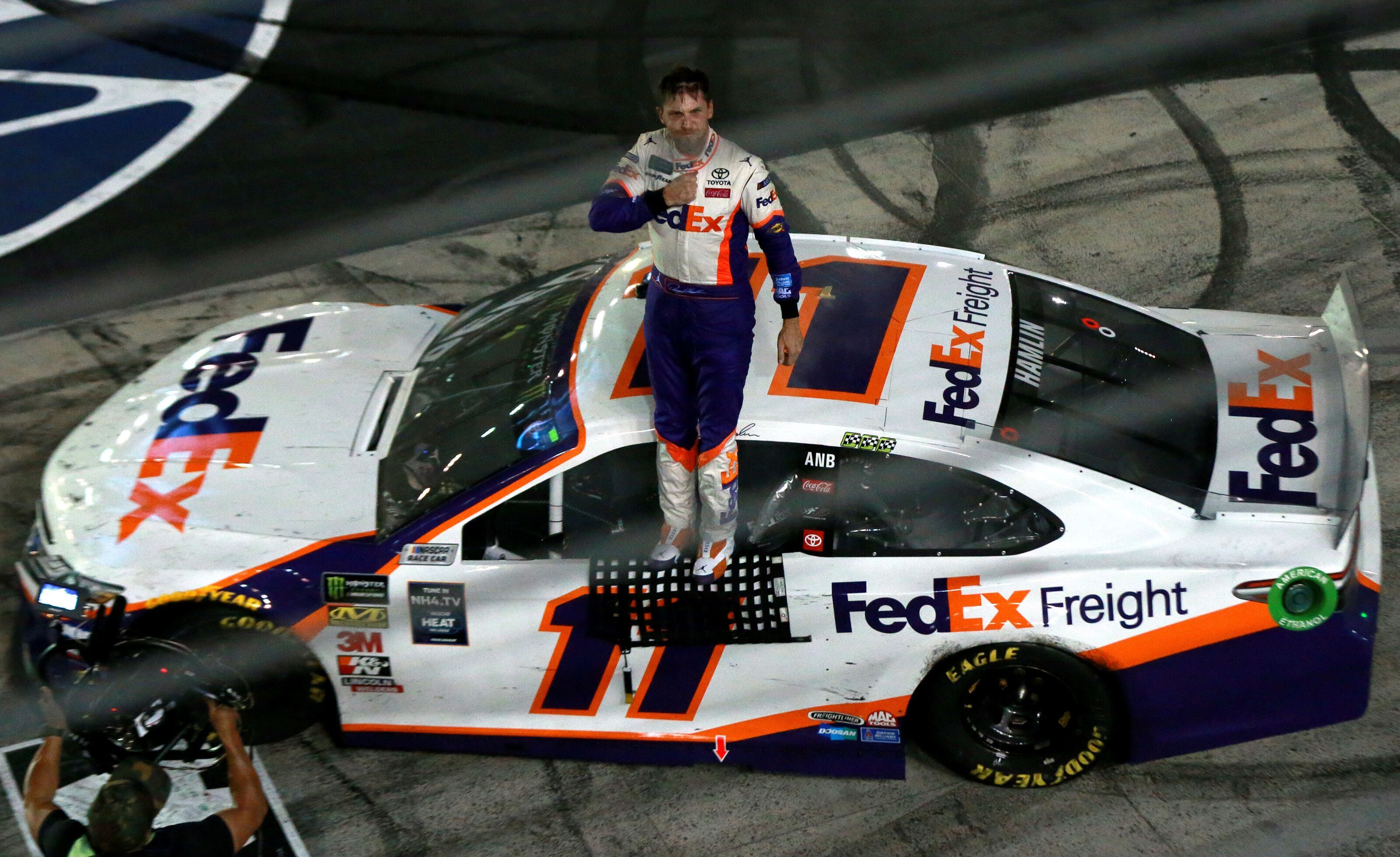 NASCAR Cup Series: Is Denny Hamlin the championship favorite?