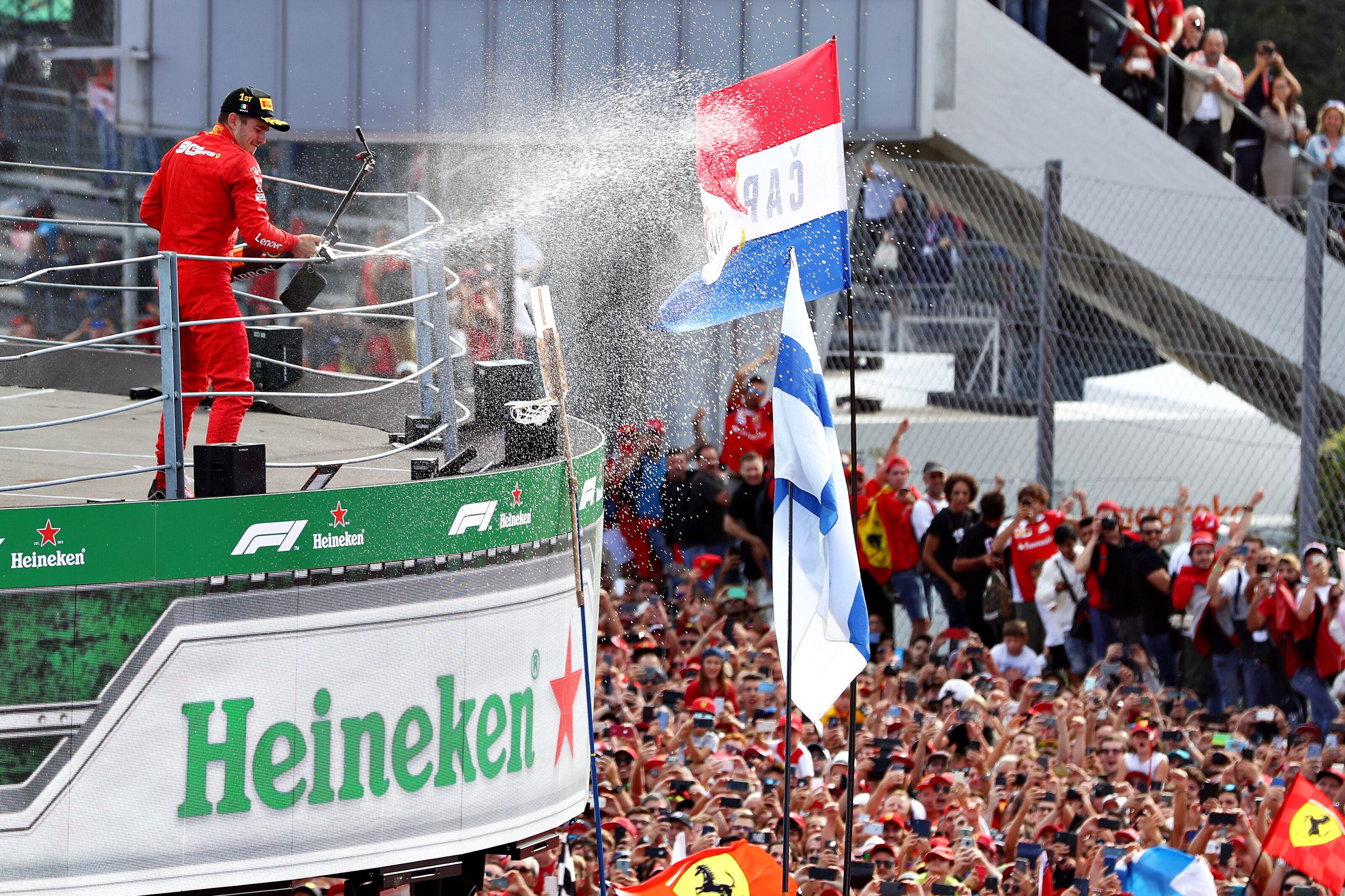 Formula 1: Charles Leclerc wins 2019 Italian Grand Prix