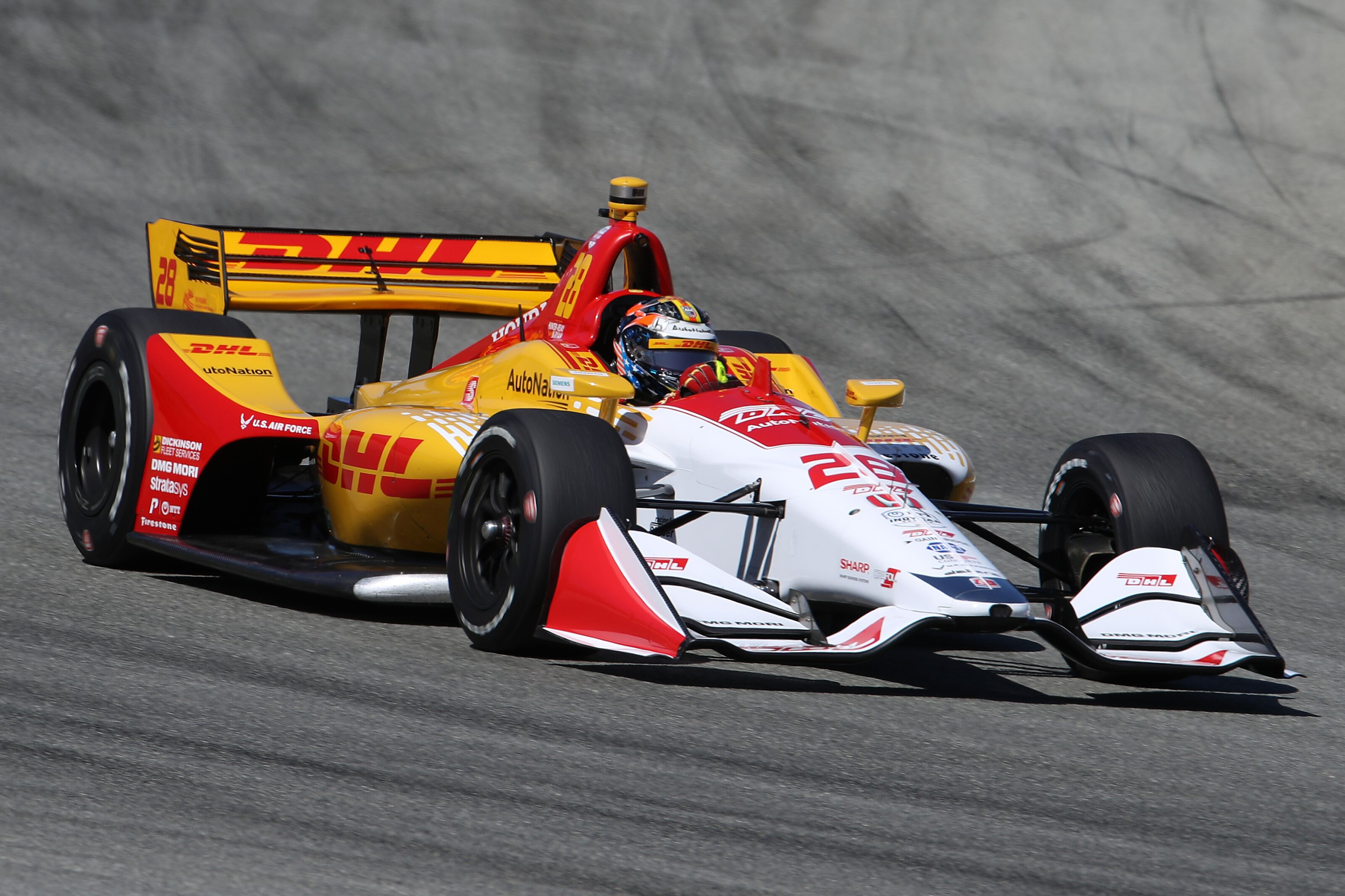 IndyCar: Ryan Hunter-Reay tops second 2019 Laguna Seca practice