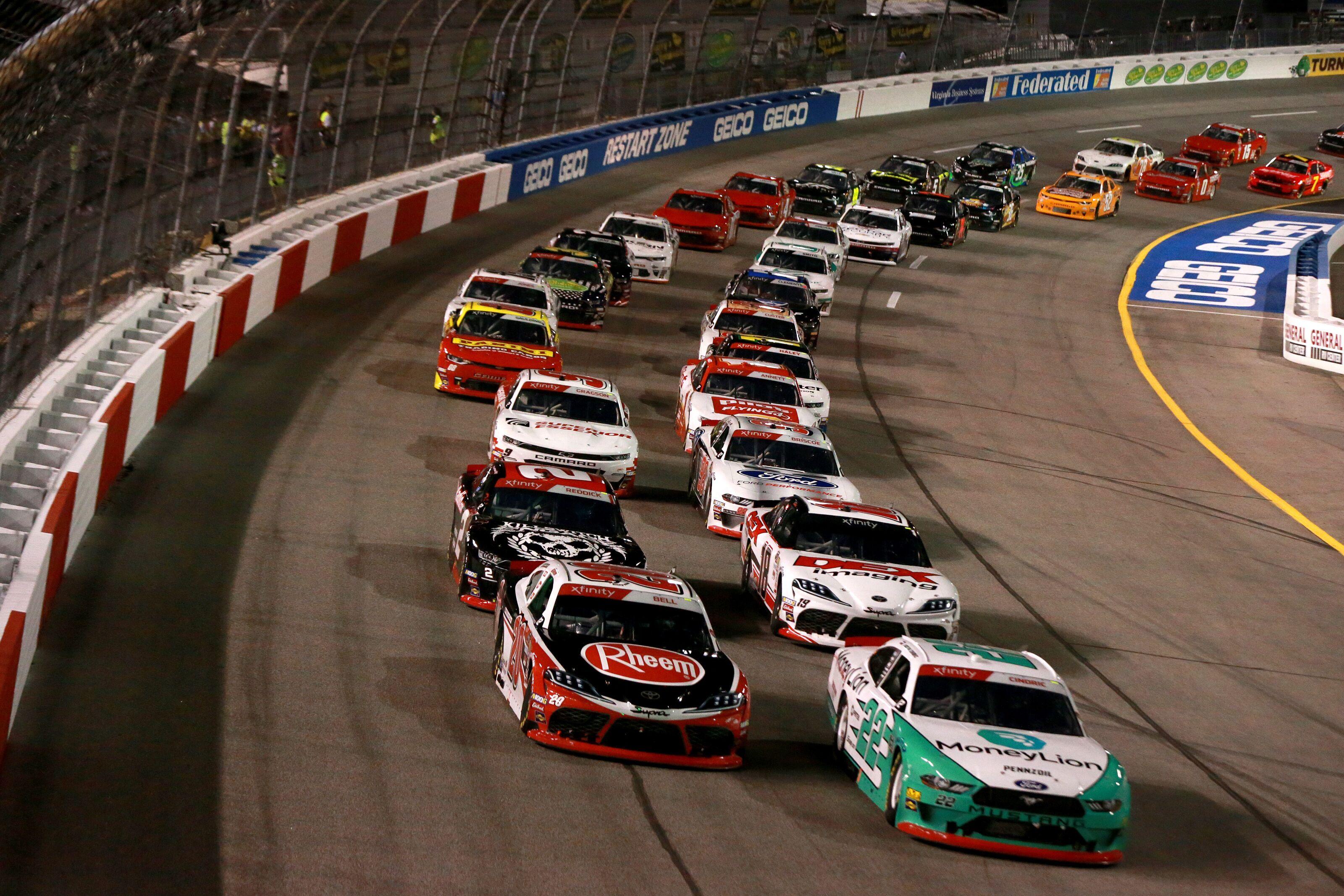 NASCAR Xfinity Series: Start times, networks revealed for 2020
