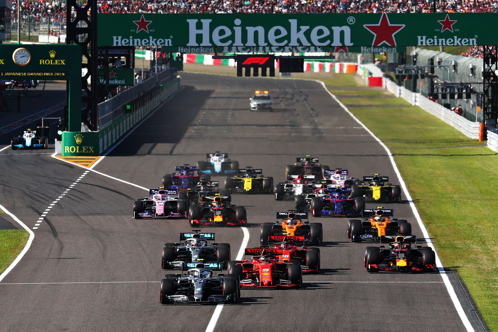 Formula 1: Did Valtteri Bottas jump the start? On-board gives clear answer
