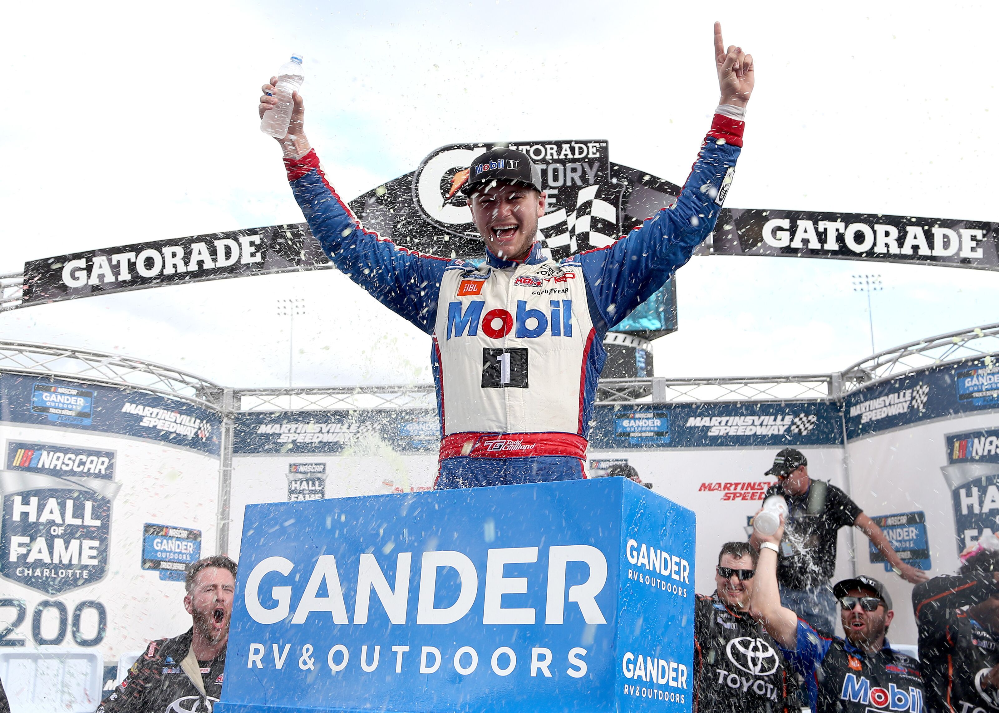 NASCAR: Fox Sports 1 robs fans of Todd Gilliland's first Truck win