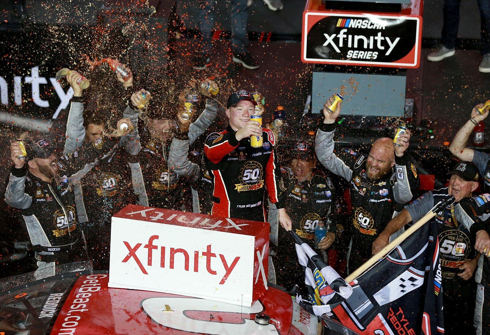 NASCAR Xfinity Series: Tyler Reddick wins 2019 Ford EcoBoost 300