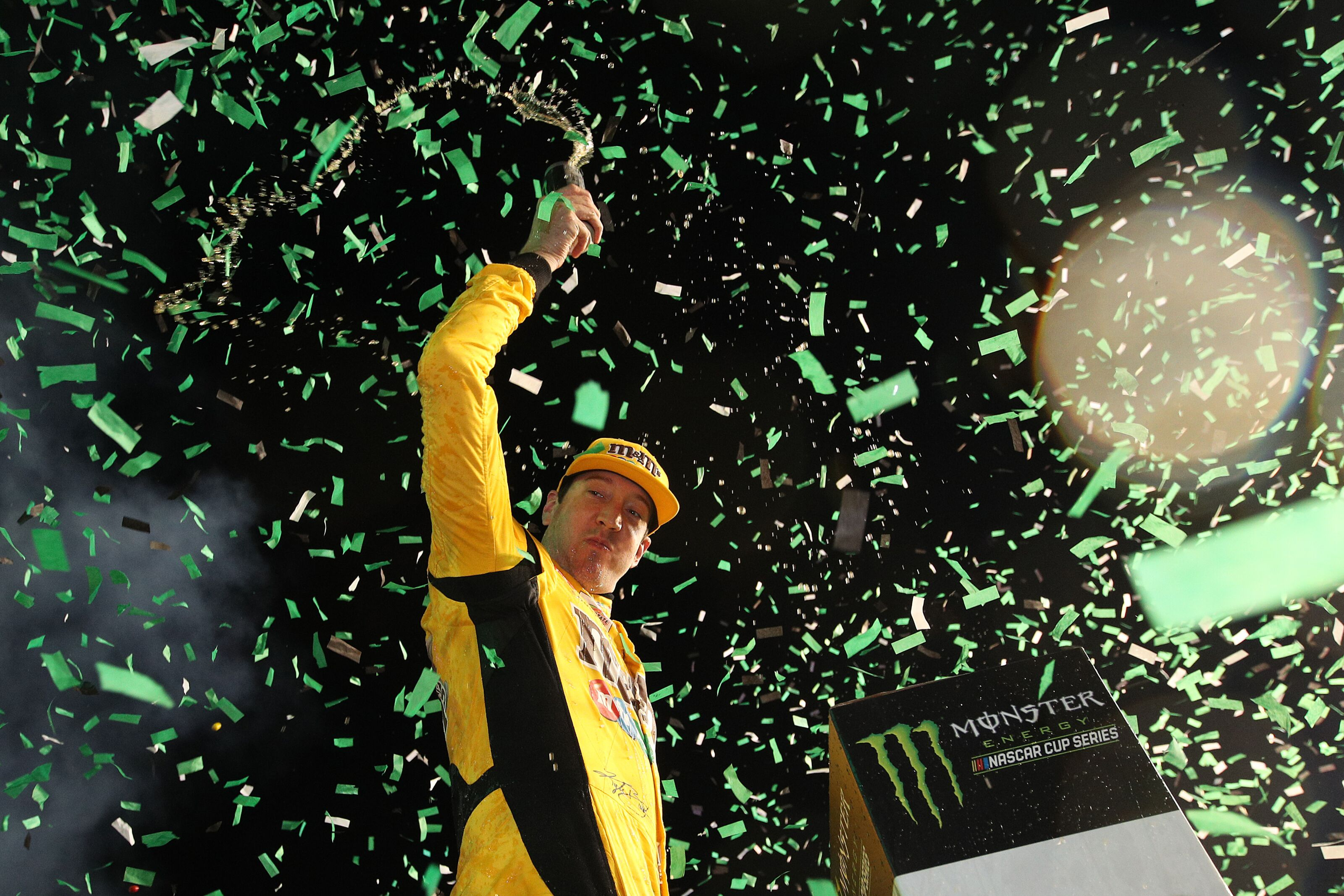 NASCAR: Joe Gibbs Racing break all-time record with Kyle Busch's title-clinching win