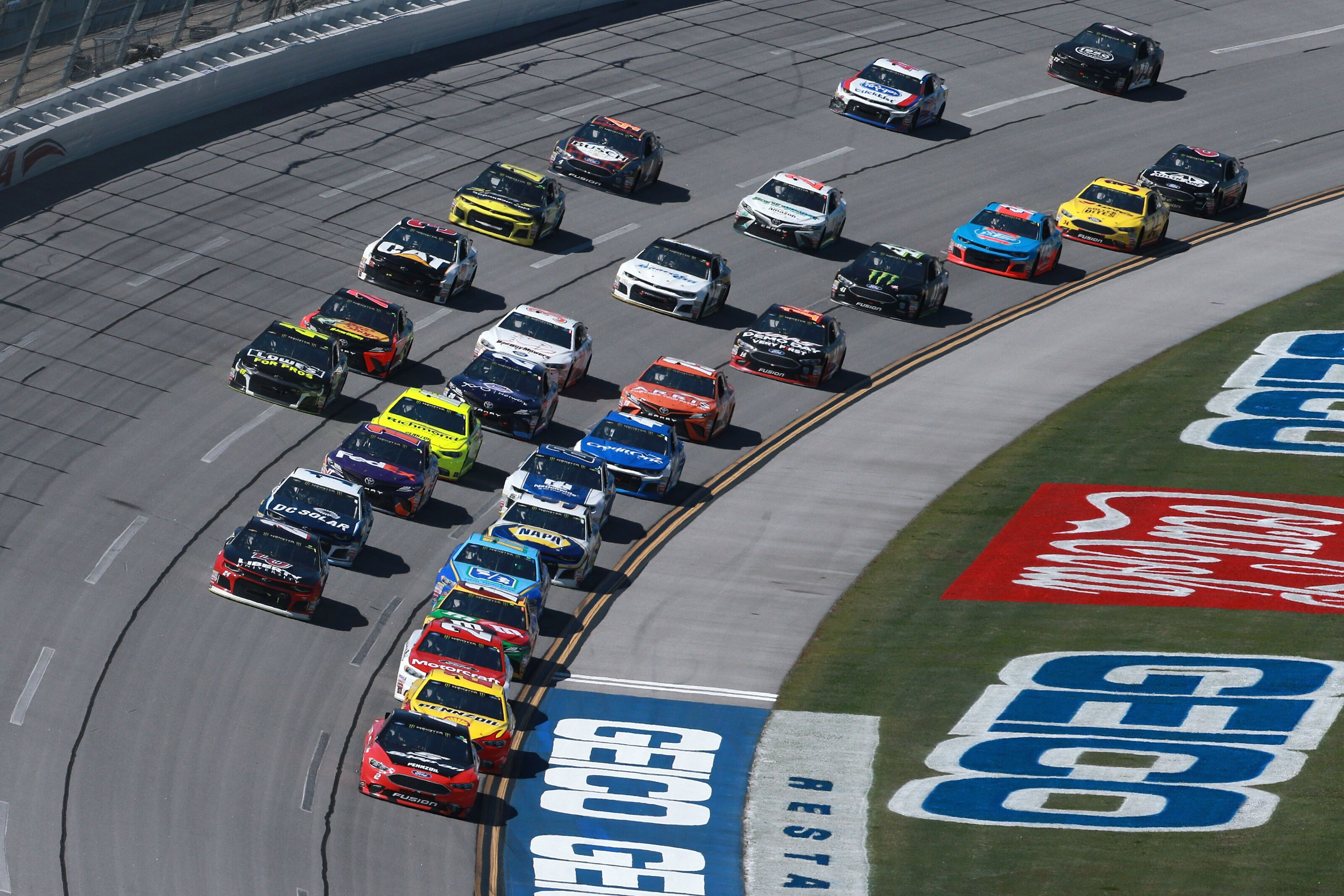 NASCAR Cup Series: 2019 GEICO 500 entry list