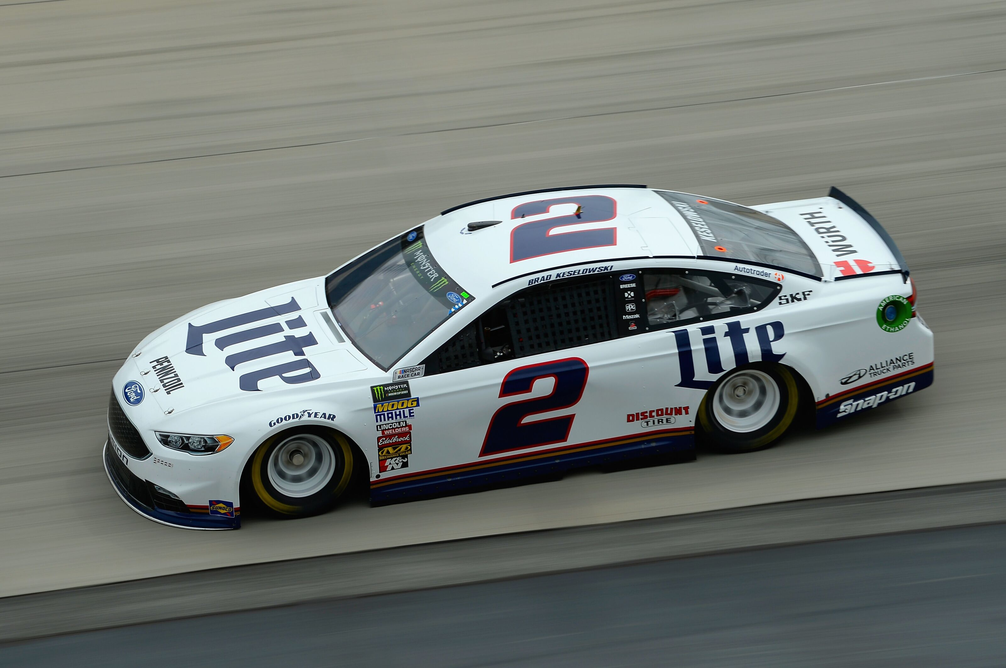 NASCAR Cup Series: Ryan Blaney clinches 2018 playoff berth