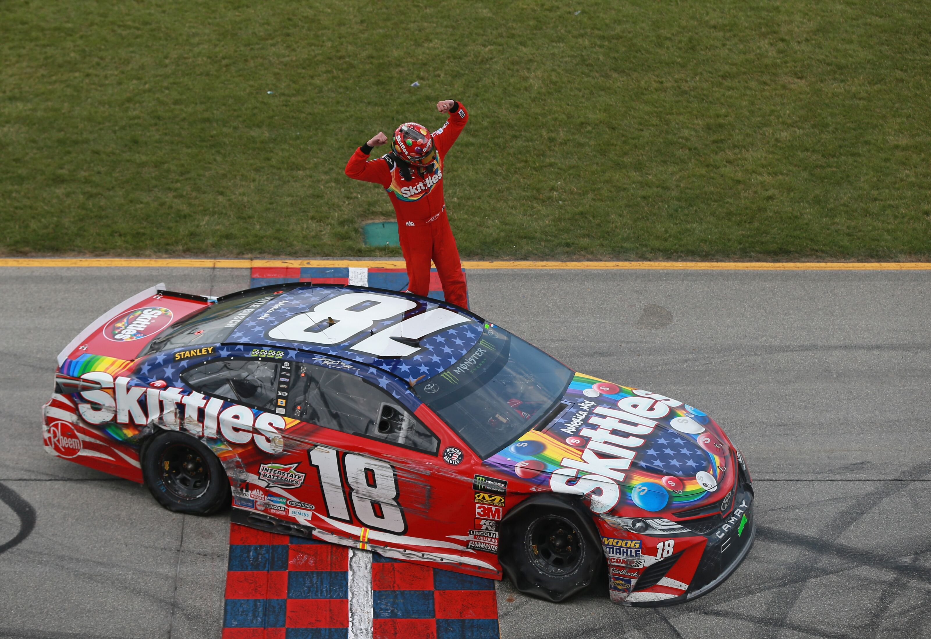 NASCAR Cup Series Kyle Busch Discusses Crying Act After Overtons 400