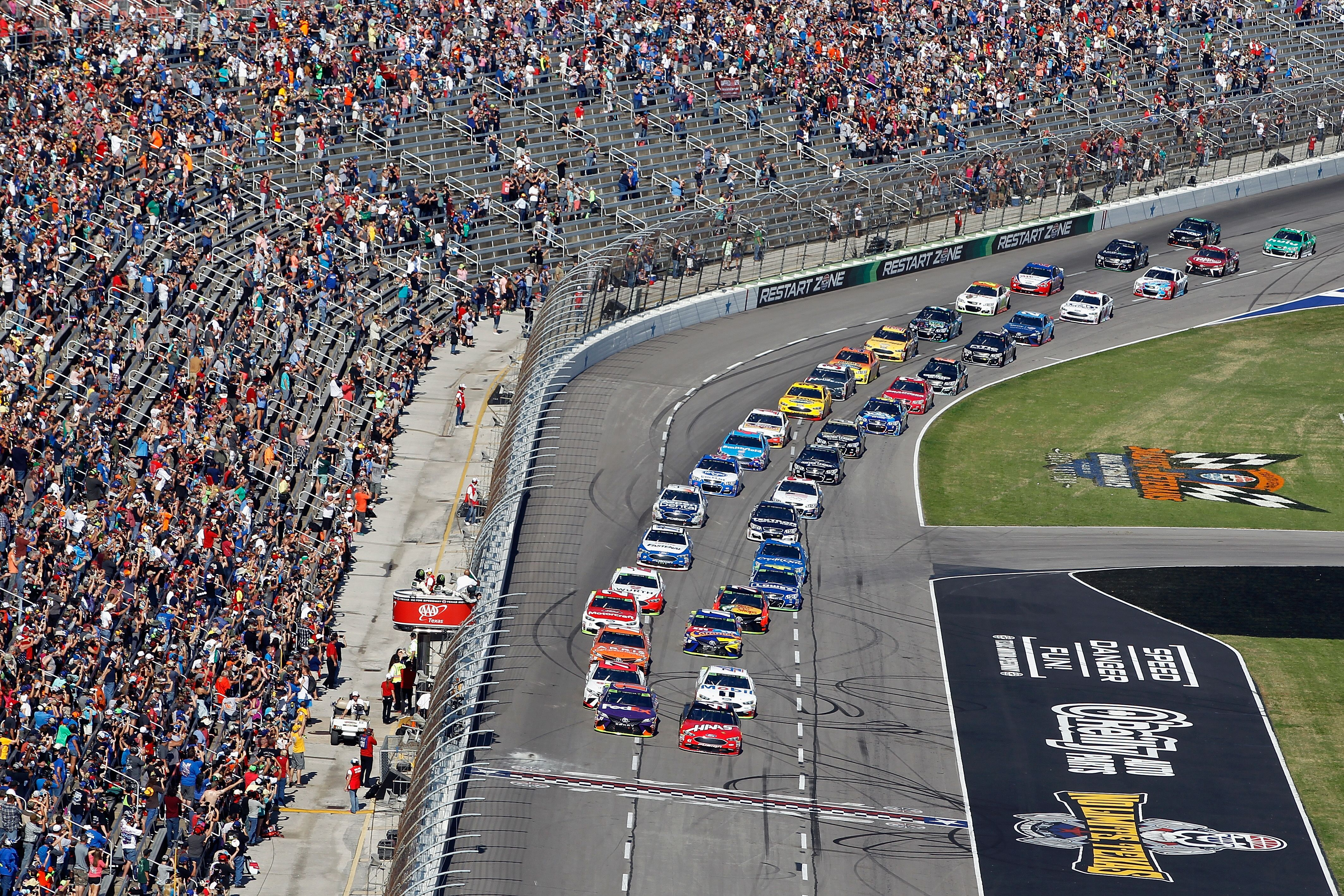 Nascar 2018 Cup Series Tv Schedule And Times Announced