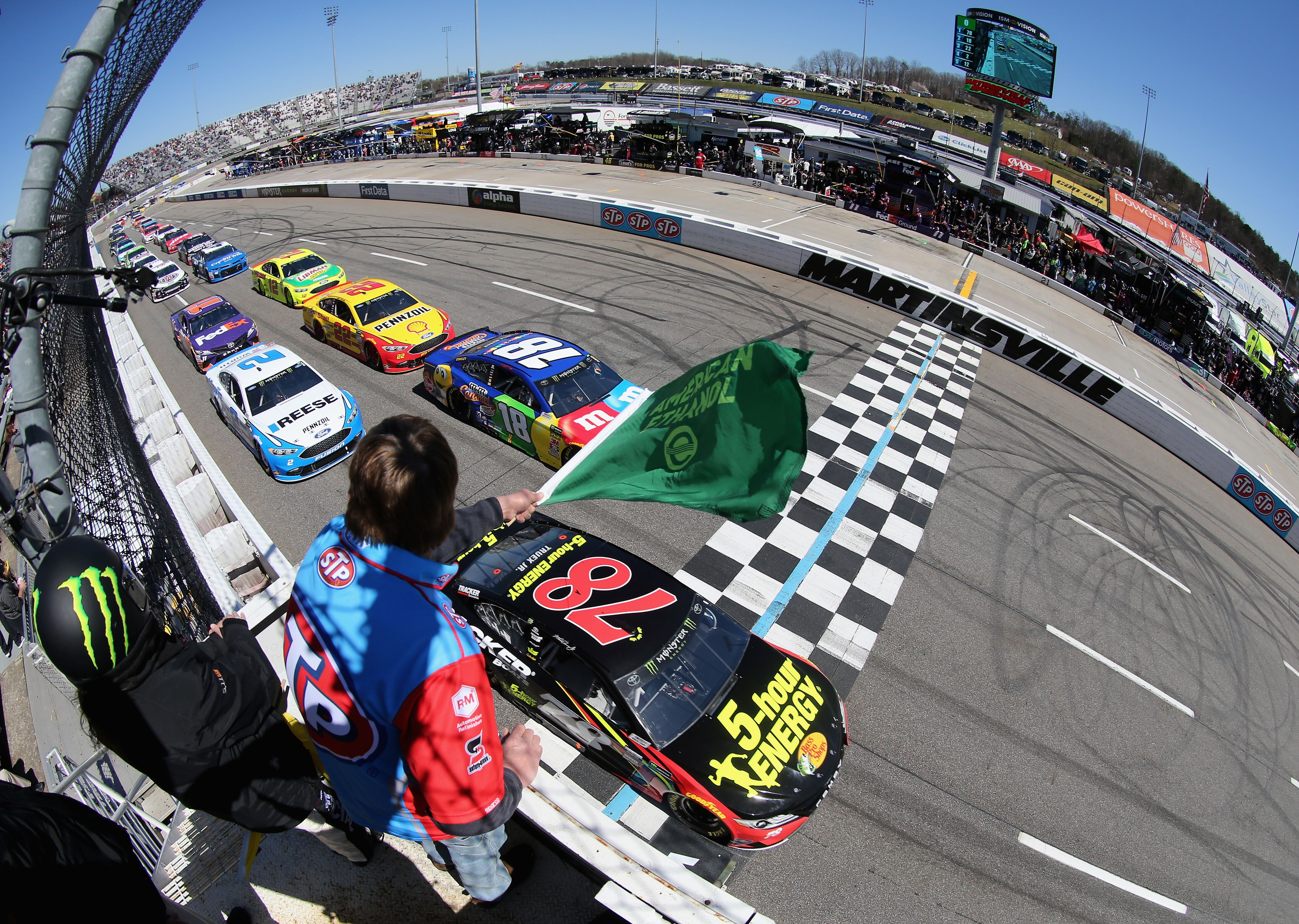 Kyle Busch Motorsports >> NASCAR Cup Series: Driver Power Rankings after 2018 STP 500 at Martinsville