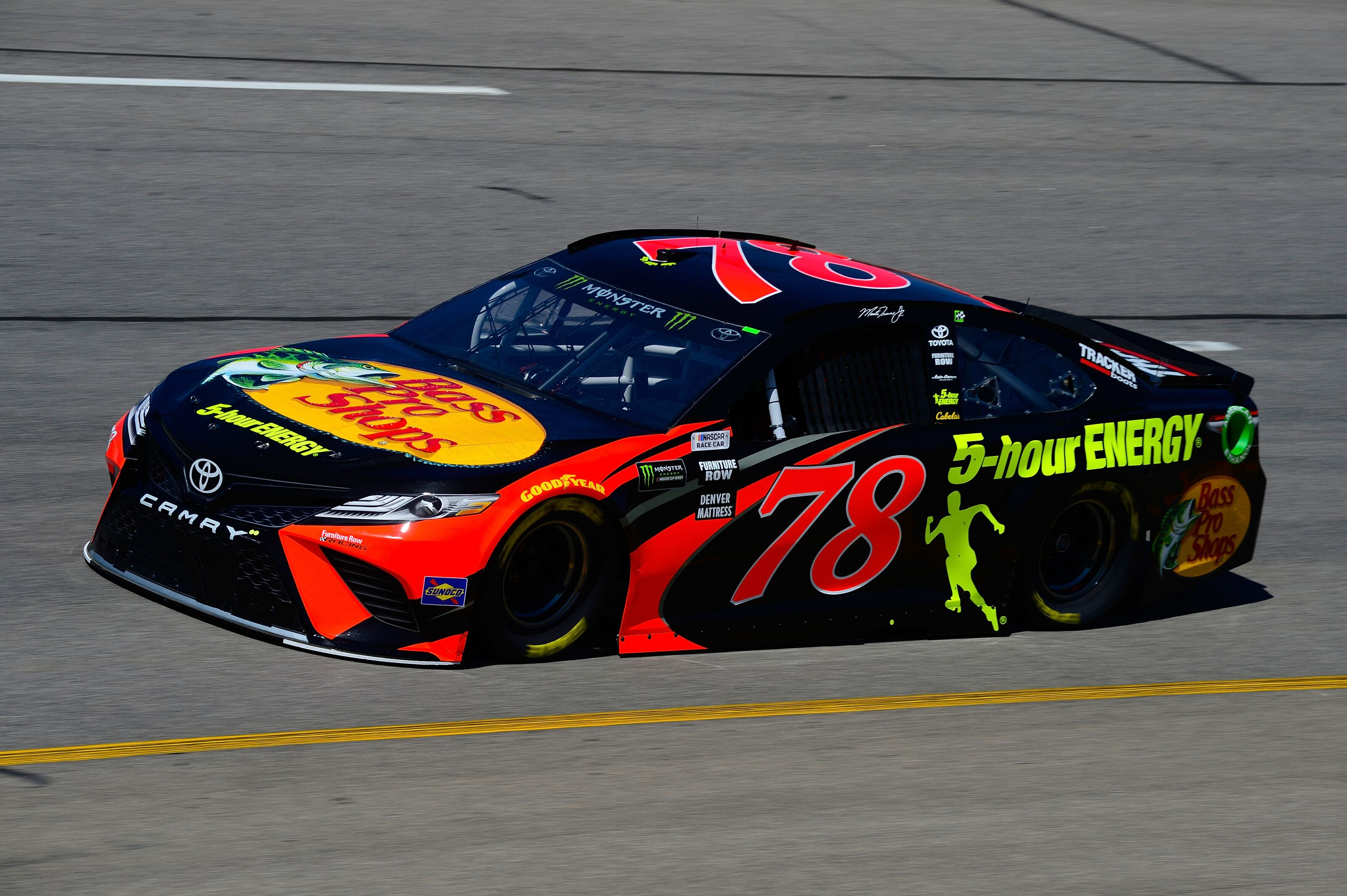 nascar cup series 2018 toyota owners 400 at richmond qualifying