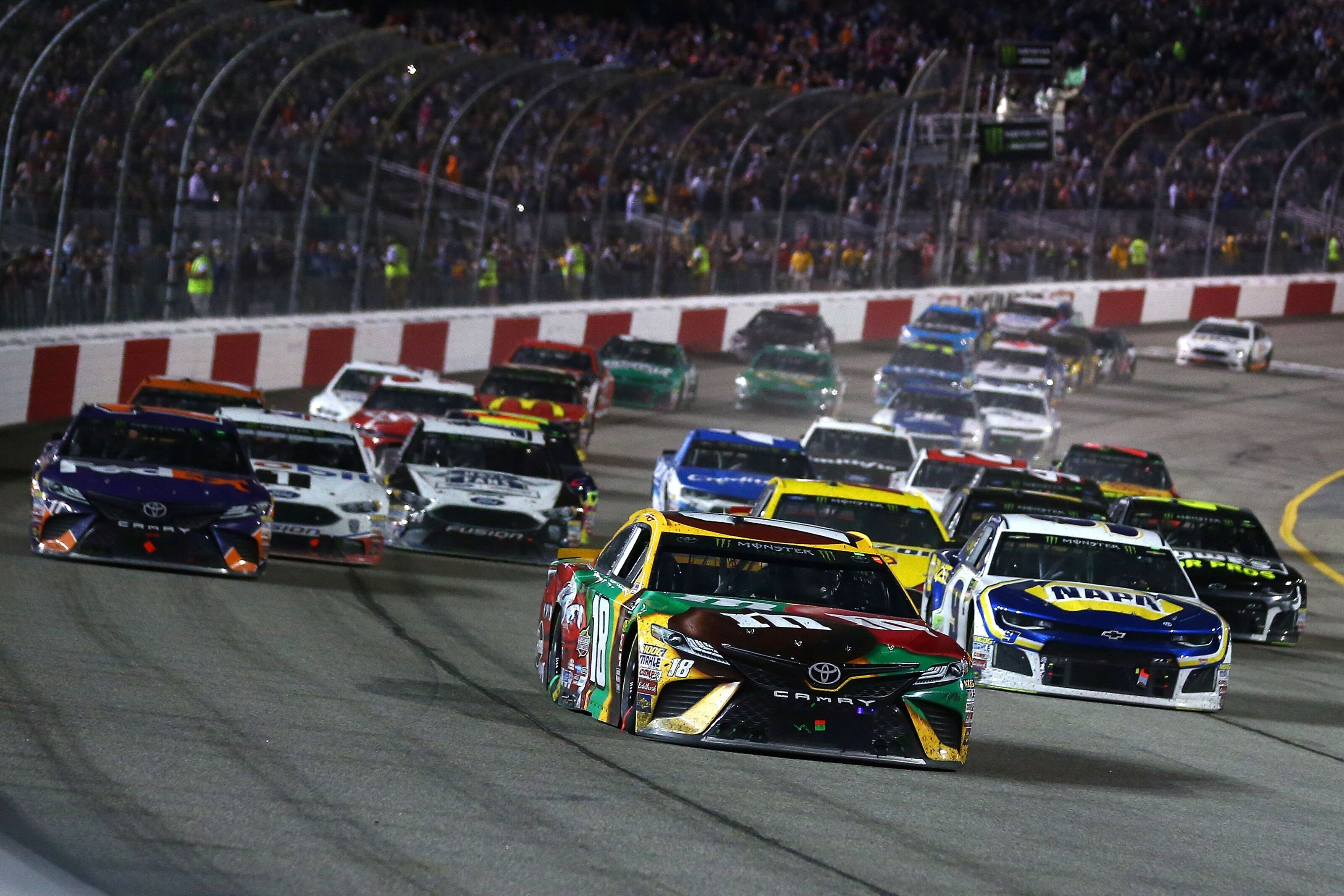 Nascar Cup Series Driver Power Rankings After 2018 Toyota