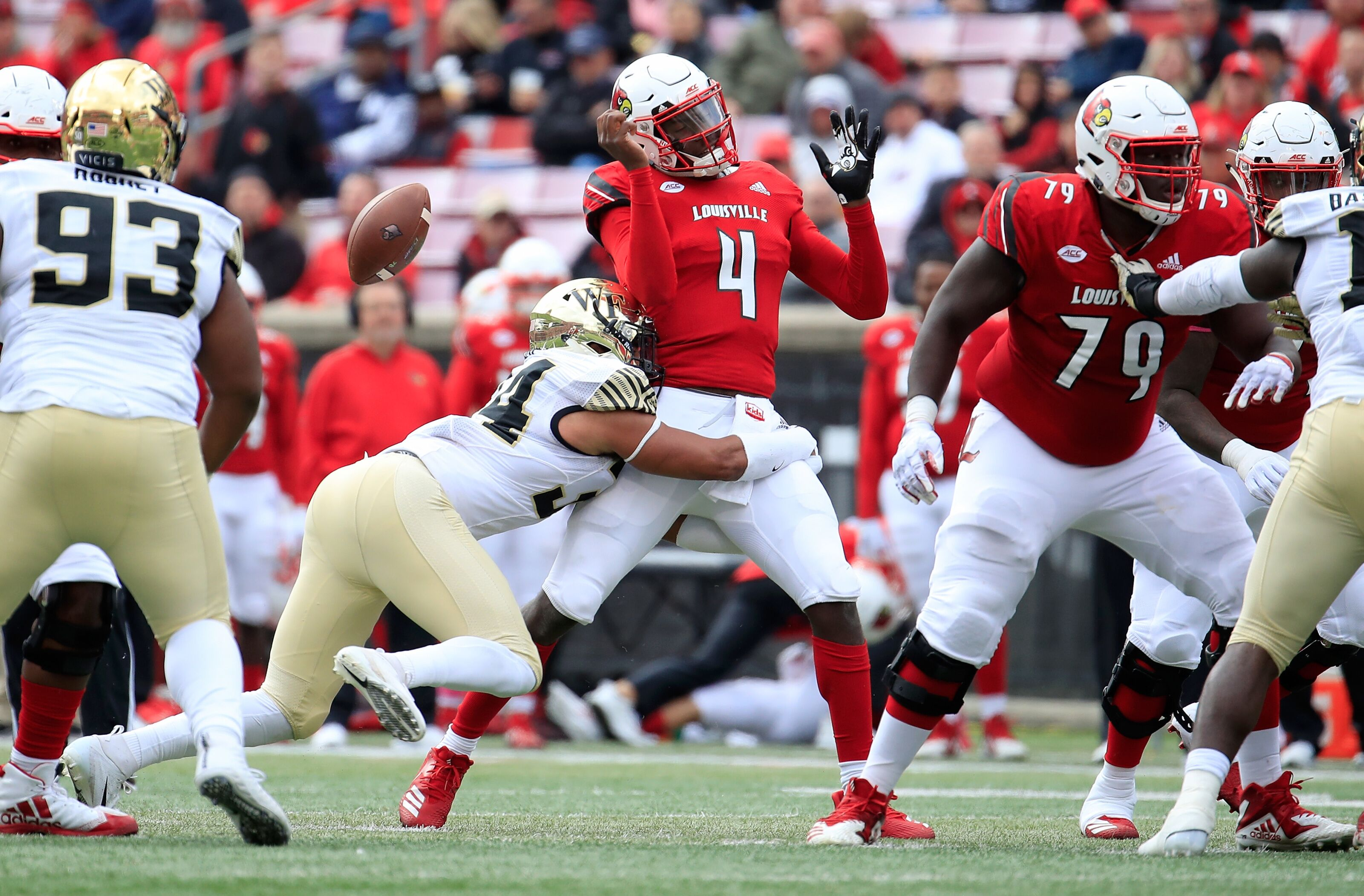 Louisville football: The spread is huge, but Clemson is ...