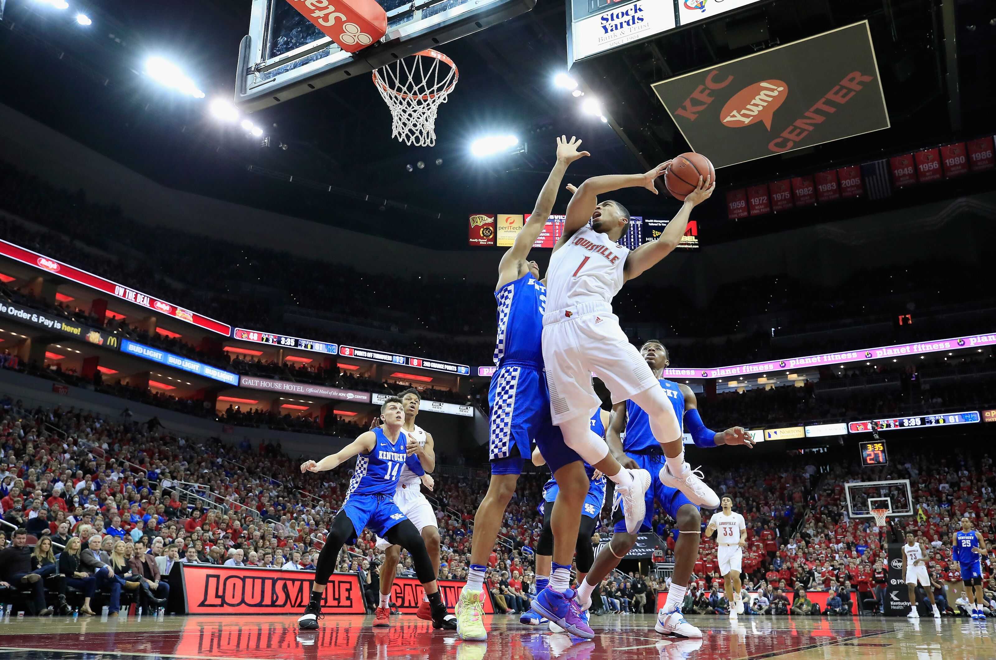 player grades louisville basketball outmuscled by kentucky