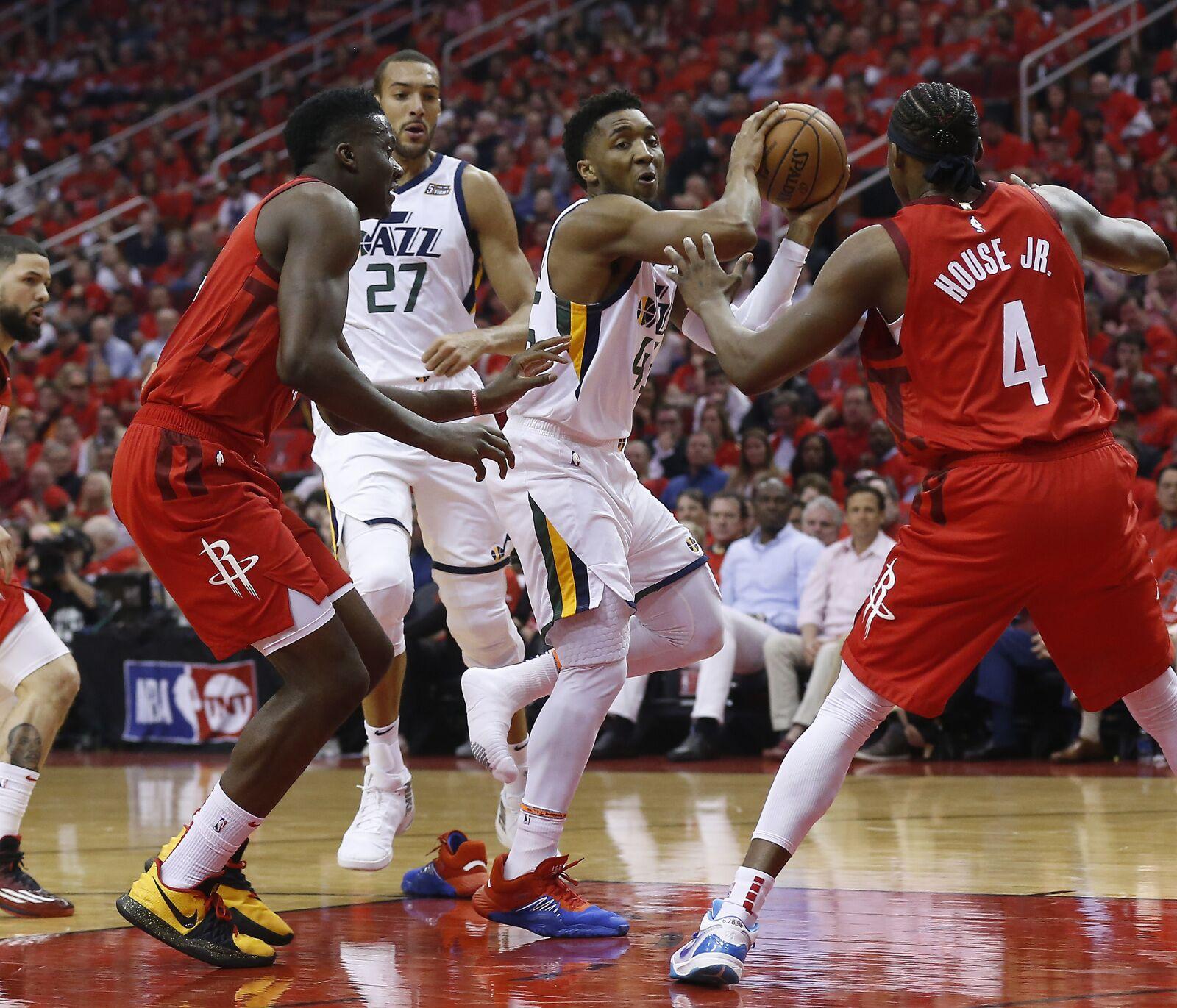 Rockets Jazz Game 2: Flipboard: Donovan Mitchell Has Chance To Shine On Biggest