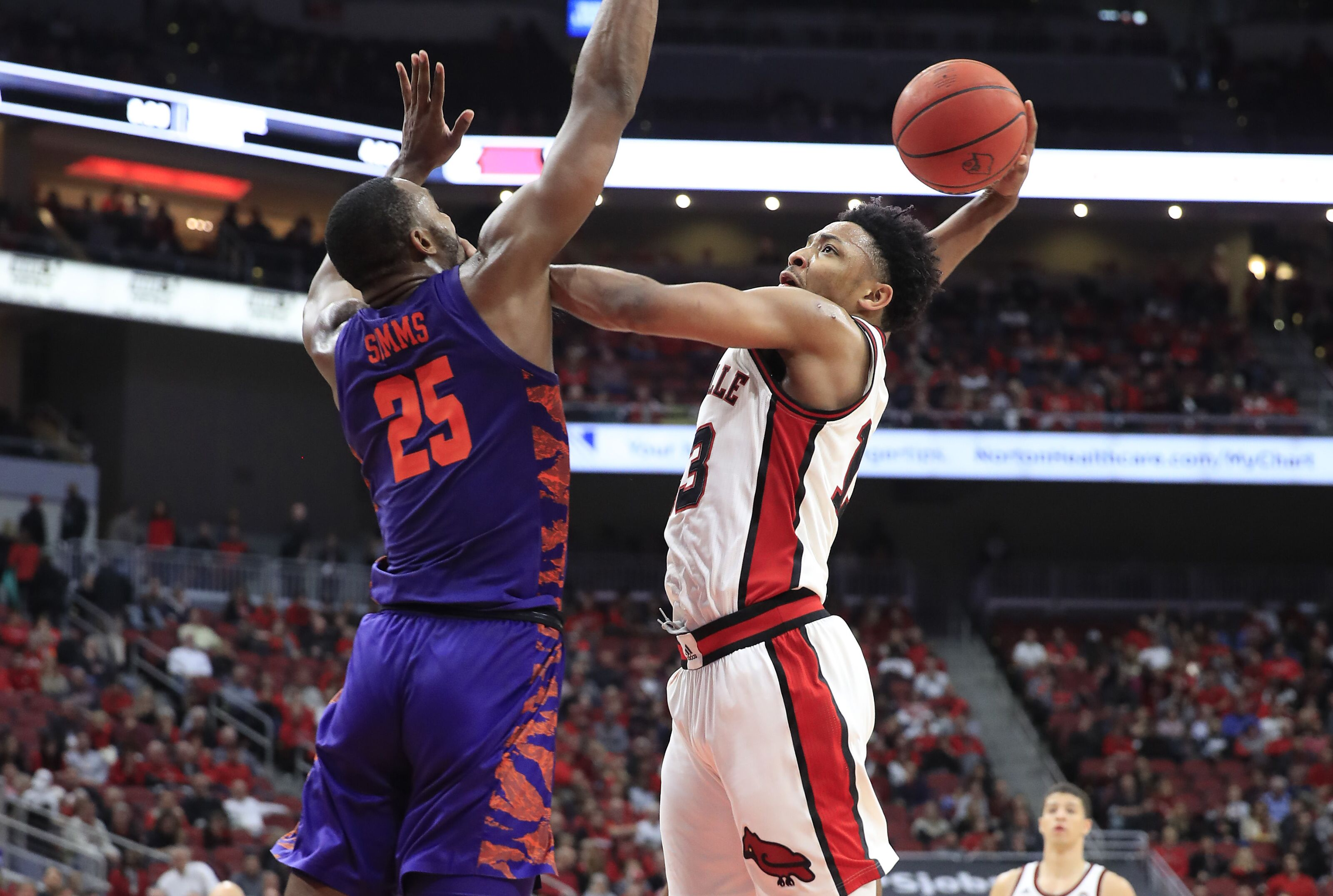 Louisville basketball: Cards throw back Clemson with massive first half