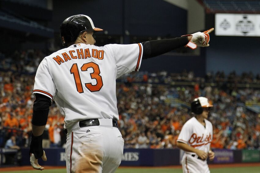 Manny Machado Adam Jones Mlb Tampa Bay Rays Baltimore Orioles Rumors Yankees