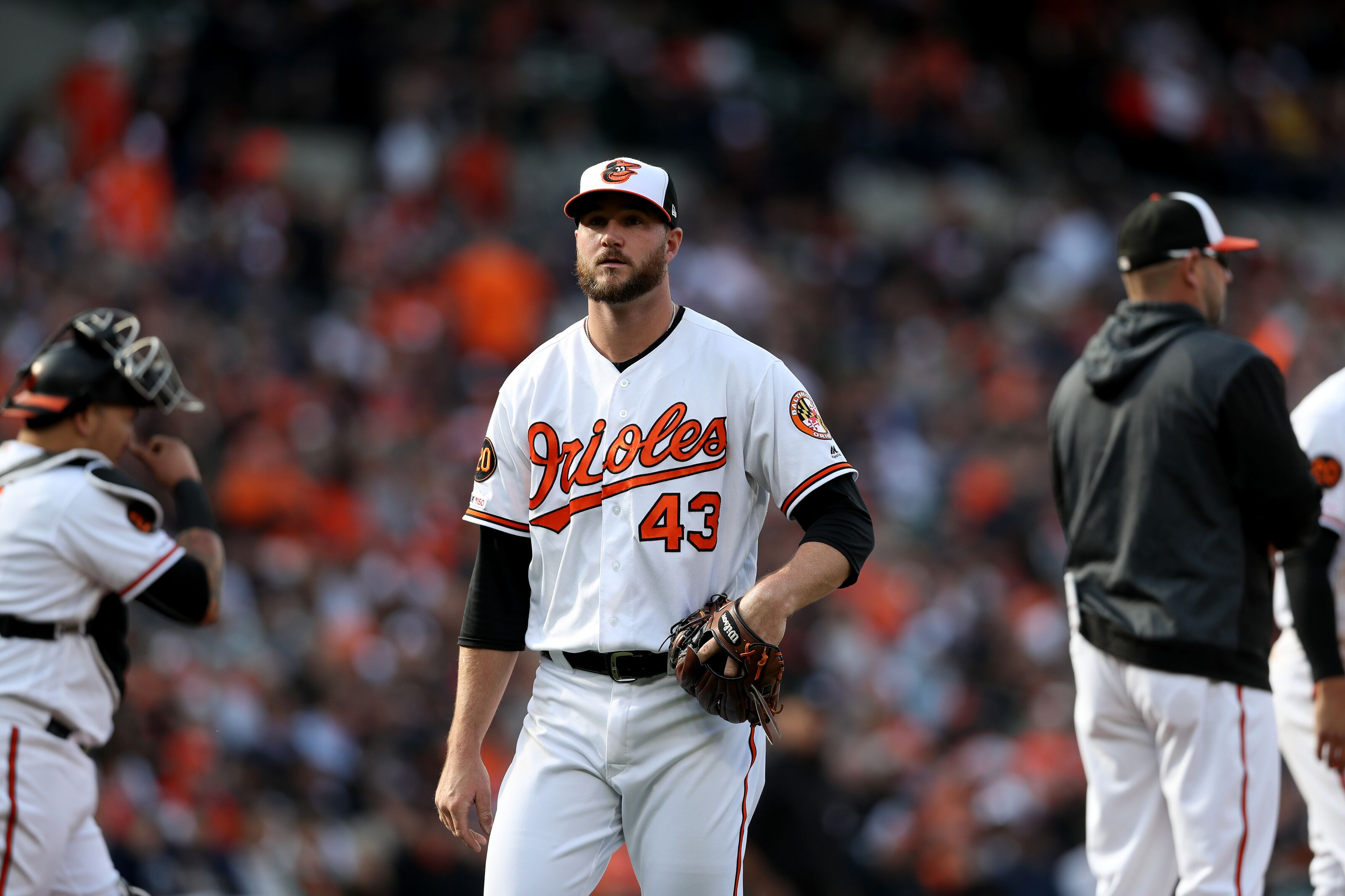 sports shoes a7636 55cd9 Baltimore Orioles: Mike Wright Traded To Seattle Mariners