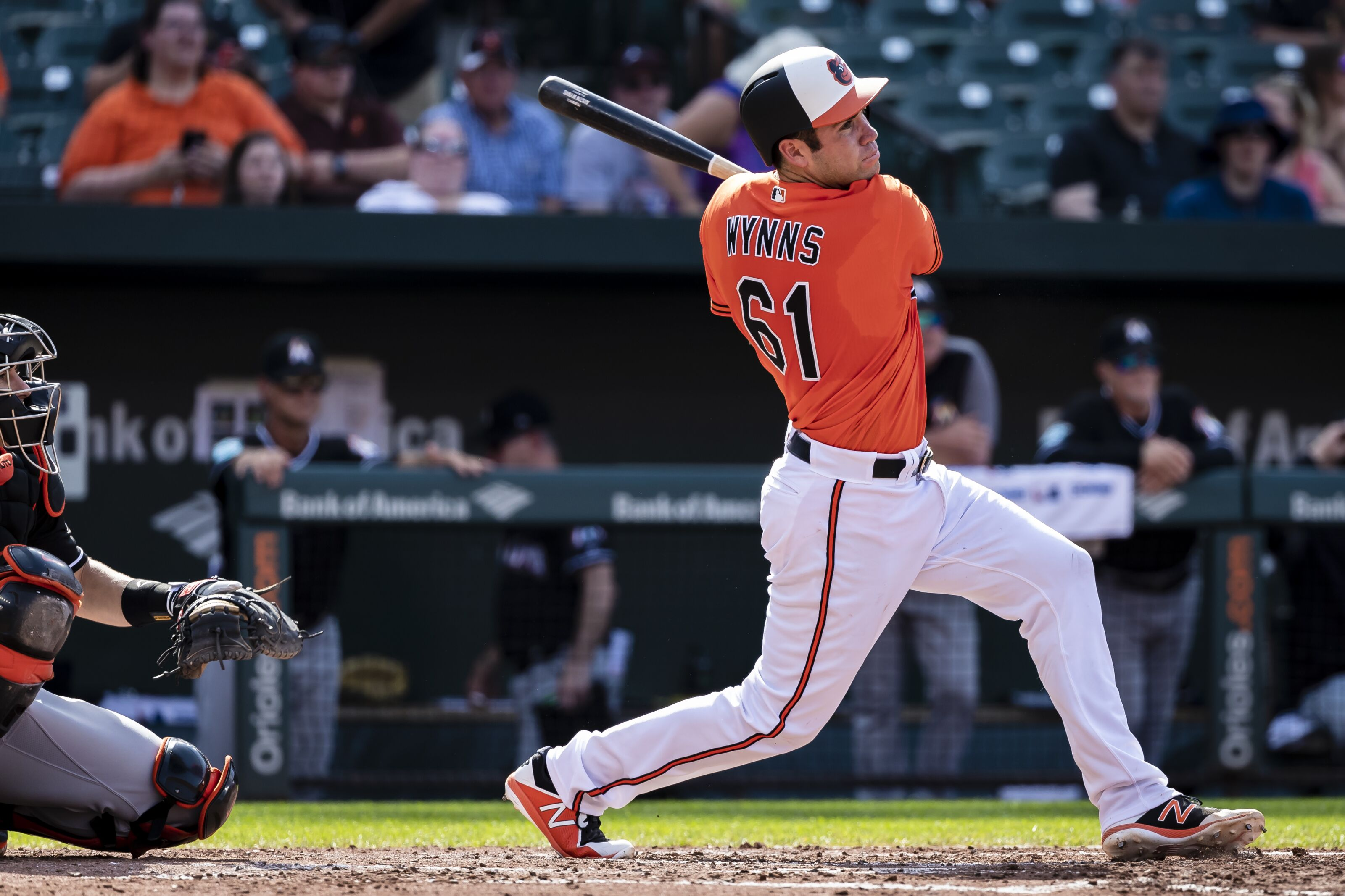Baltimore Orioles: Austin Wynns can be an everyday catcher