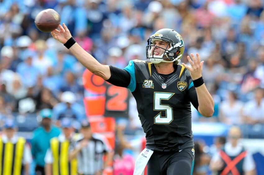 Jaguars Need To Pass To Open Up The Run