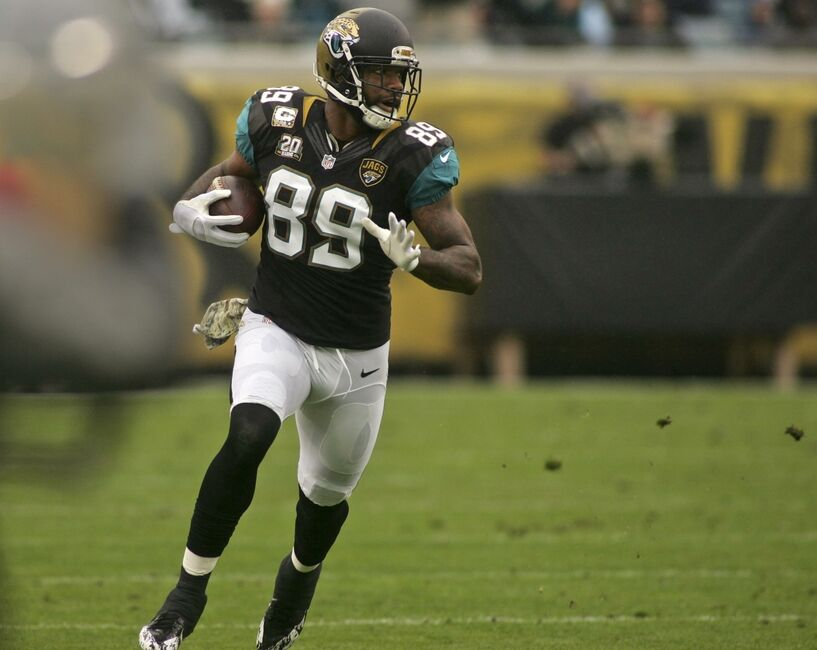 Marcedes Lewis In Jacksonville Jaguars V Houston Texans: What Does 2015 Have In Store For Jags TE Marcedes Lewis?
