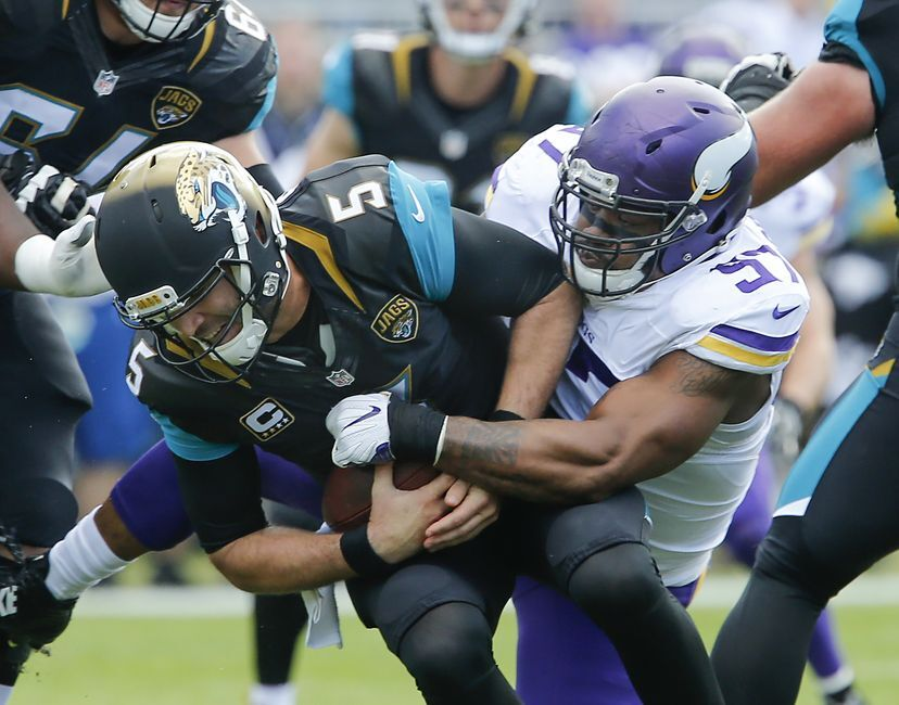 Jacksonville Jaguars Fall To Minnesota Vikings Extend