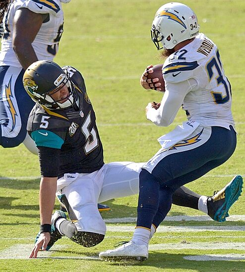 San Diego Chargers Game Score: Blake Bortles' Interceptions Must Stop Or Derail Development