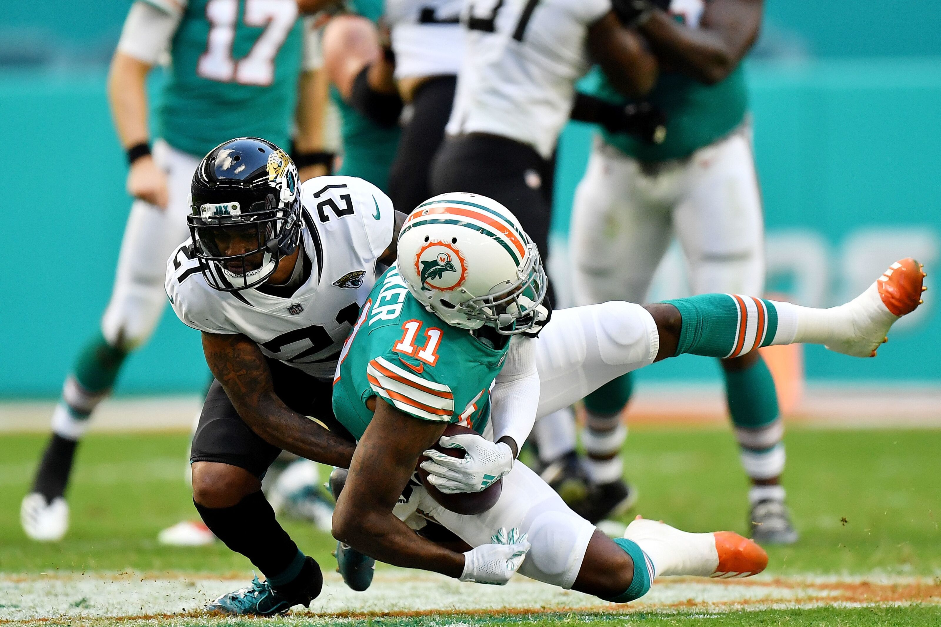 Injuries plague the Jaguars ahead of Sunday's game at Houston