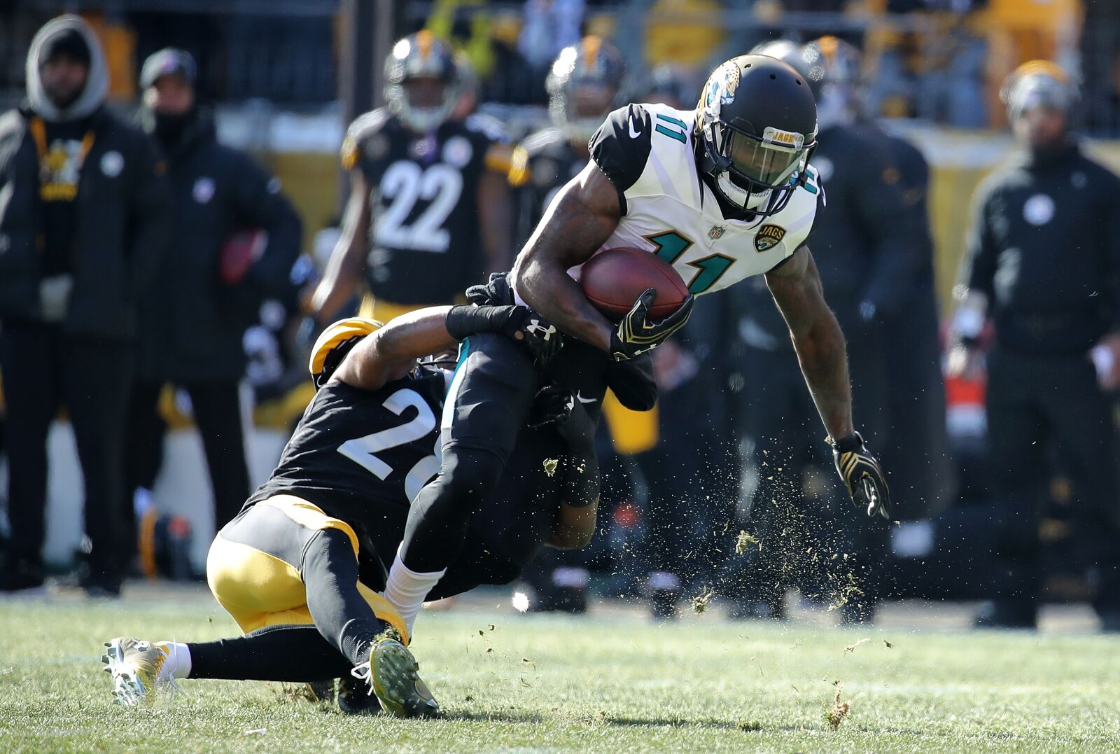 c42a2780 Jaguars wide receiver Marqise Lee shows progress from injury