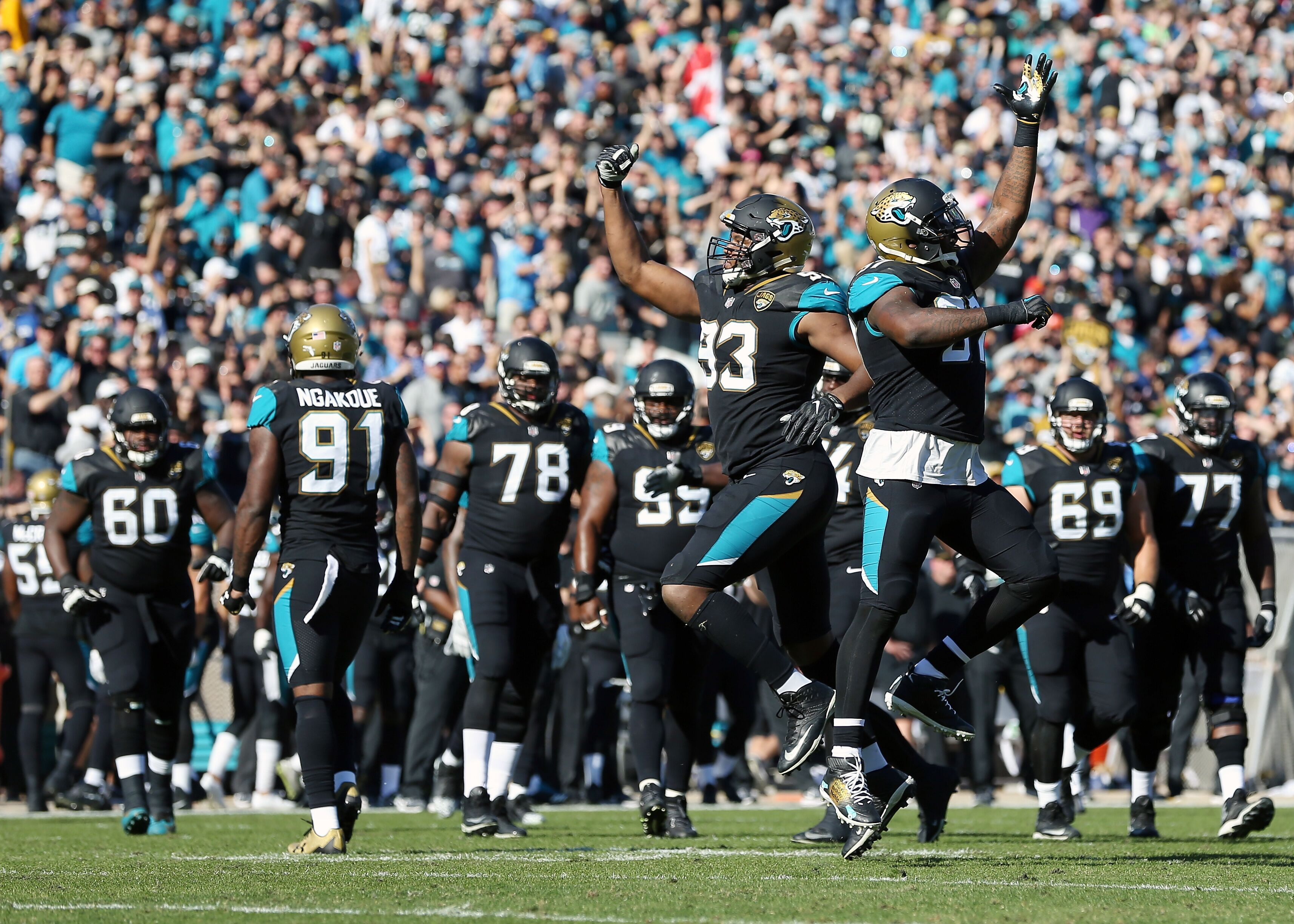 jacksonville jaguars have 8 of the top 100 players in the nfl