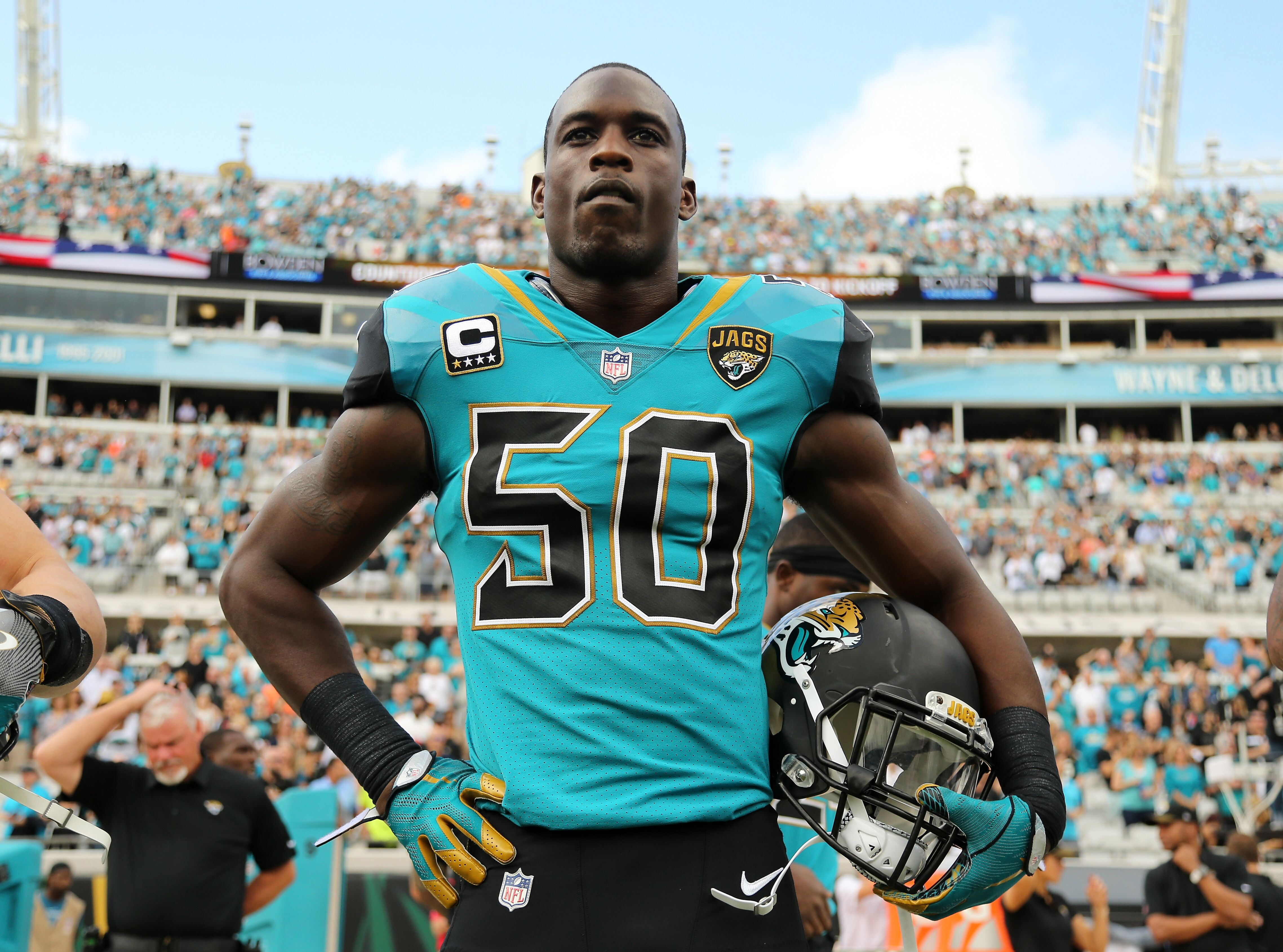 pretty nice 2590c 2fd8f Fresh update on the new Jacksonville Jaguars uniforms