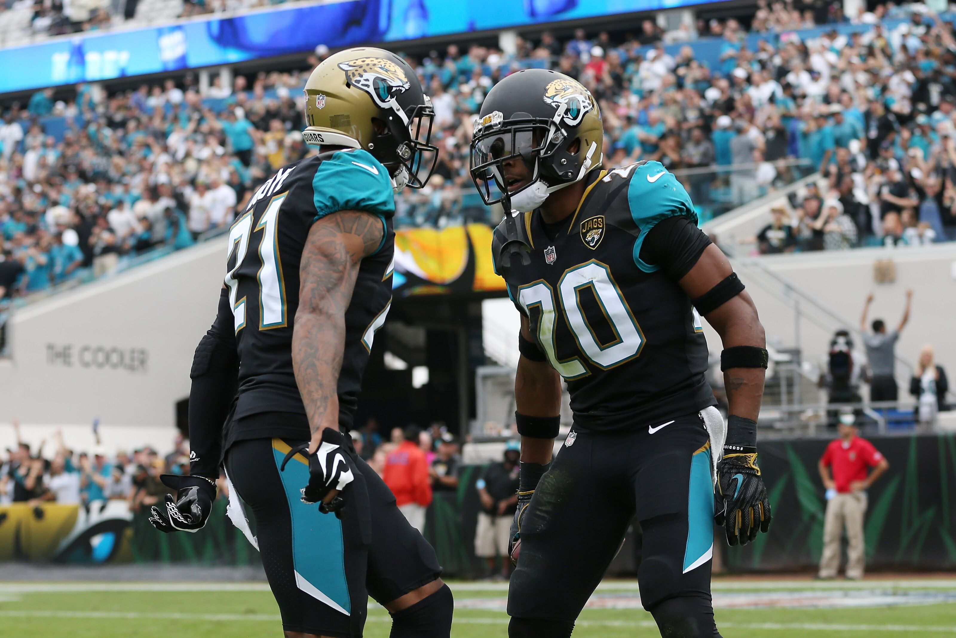 Which current Jaguars are amongst the best of all time in Jacksonville?