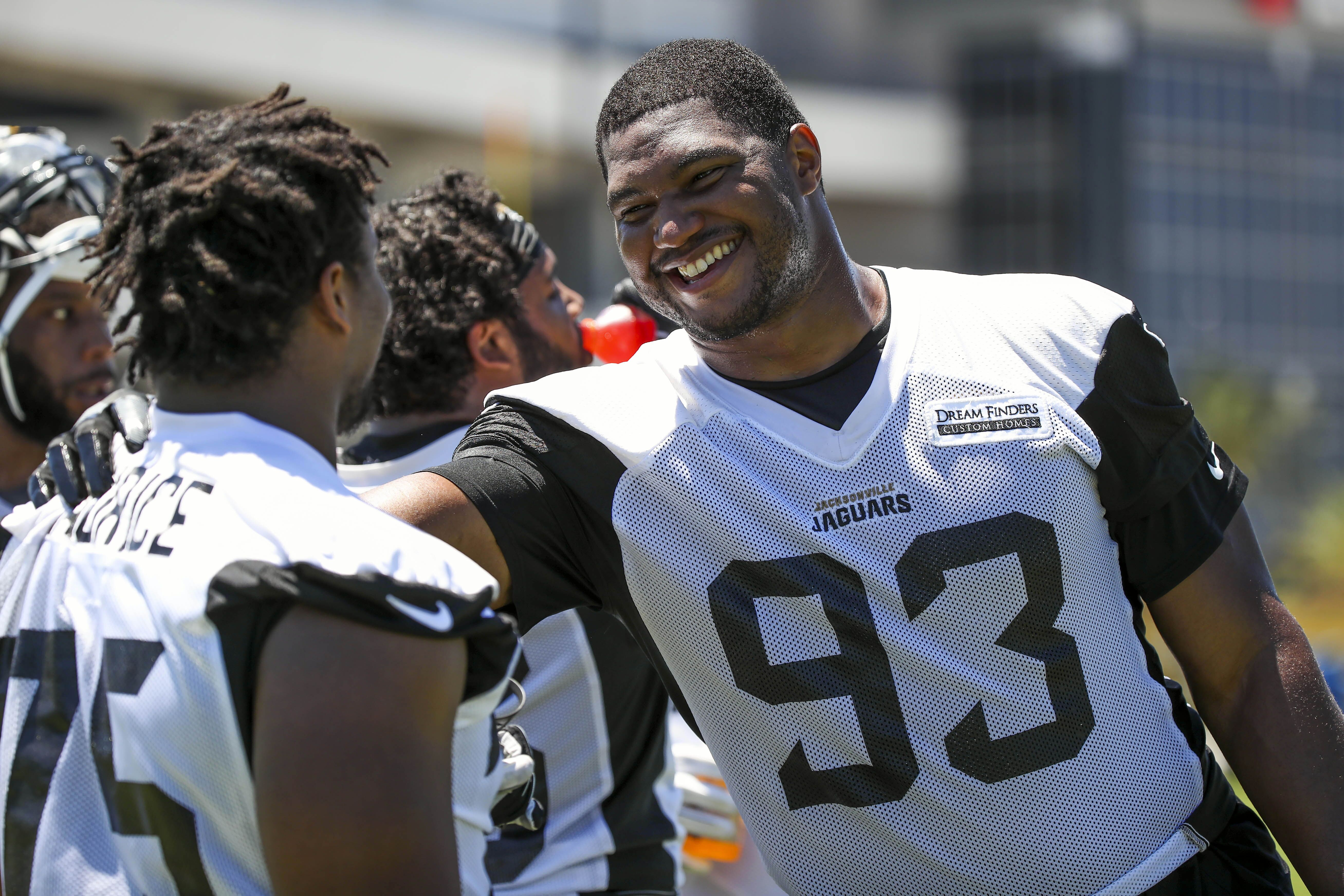 Calais Campbell already a believer in Jacksonville Jaguars
