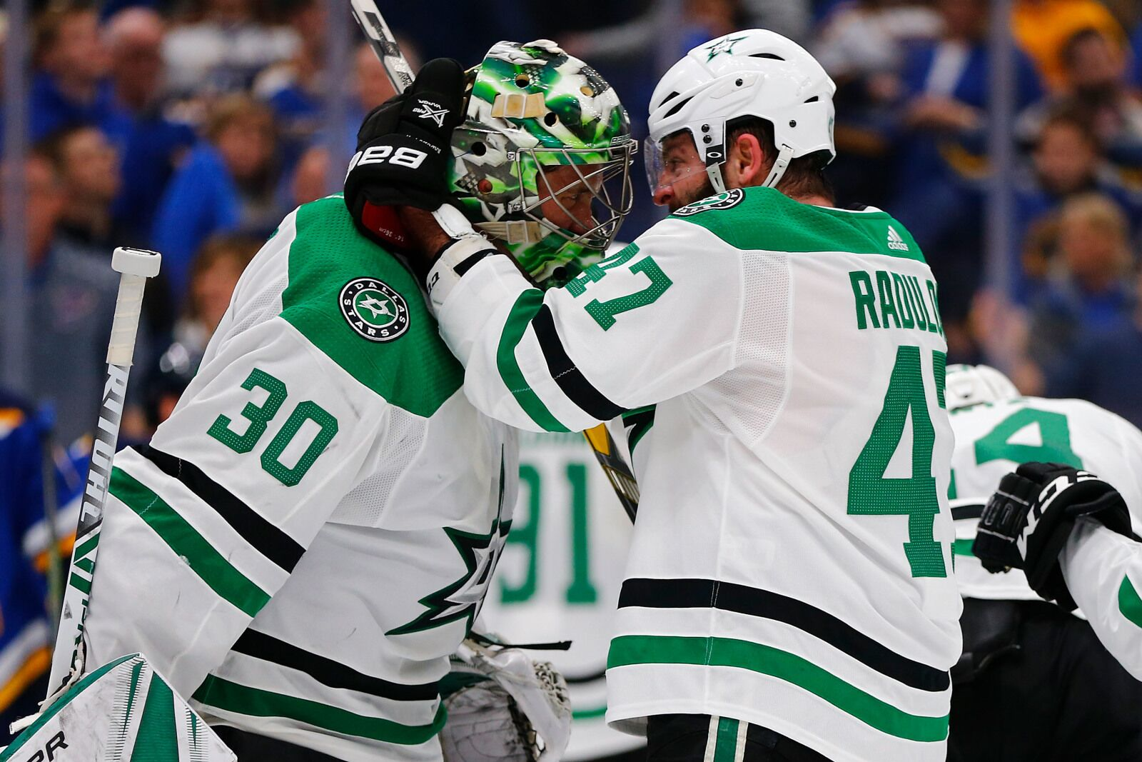 957d1e877a0780 Dallas Stars Continue Defying Odds, Beat Blues To Take Series Lead